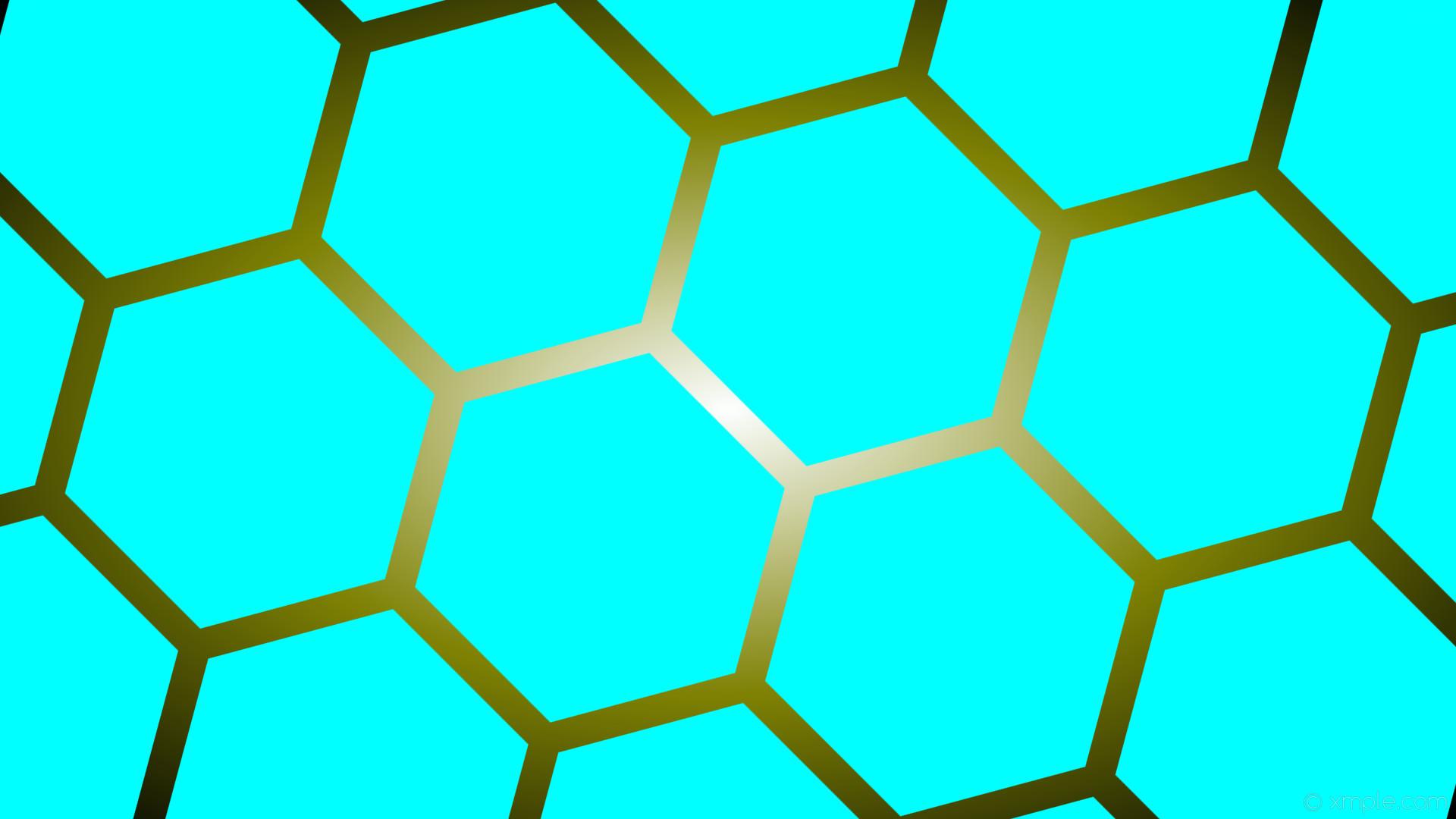 Res: 1920x1080, wallpaper green glow gradient hexagon blue black white aqua cyan olive  #00ffff #ffffff #