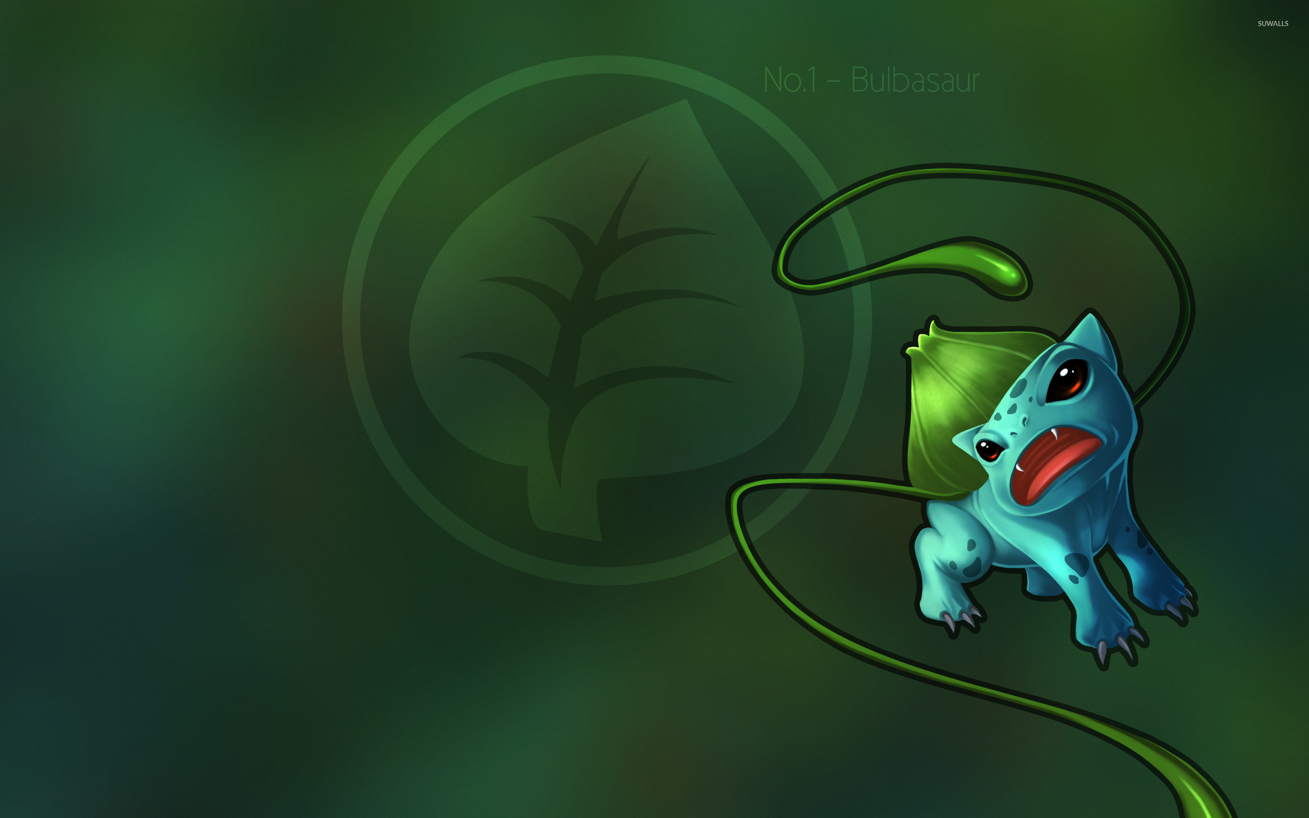 Res: 2560x1600, Bulbasaur - Pokemon [2] wallpaper