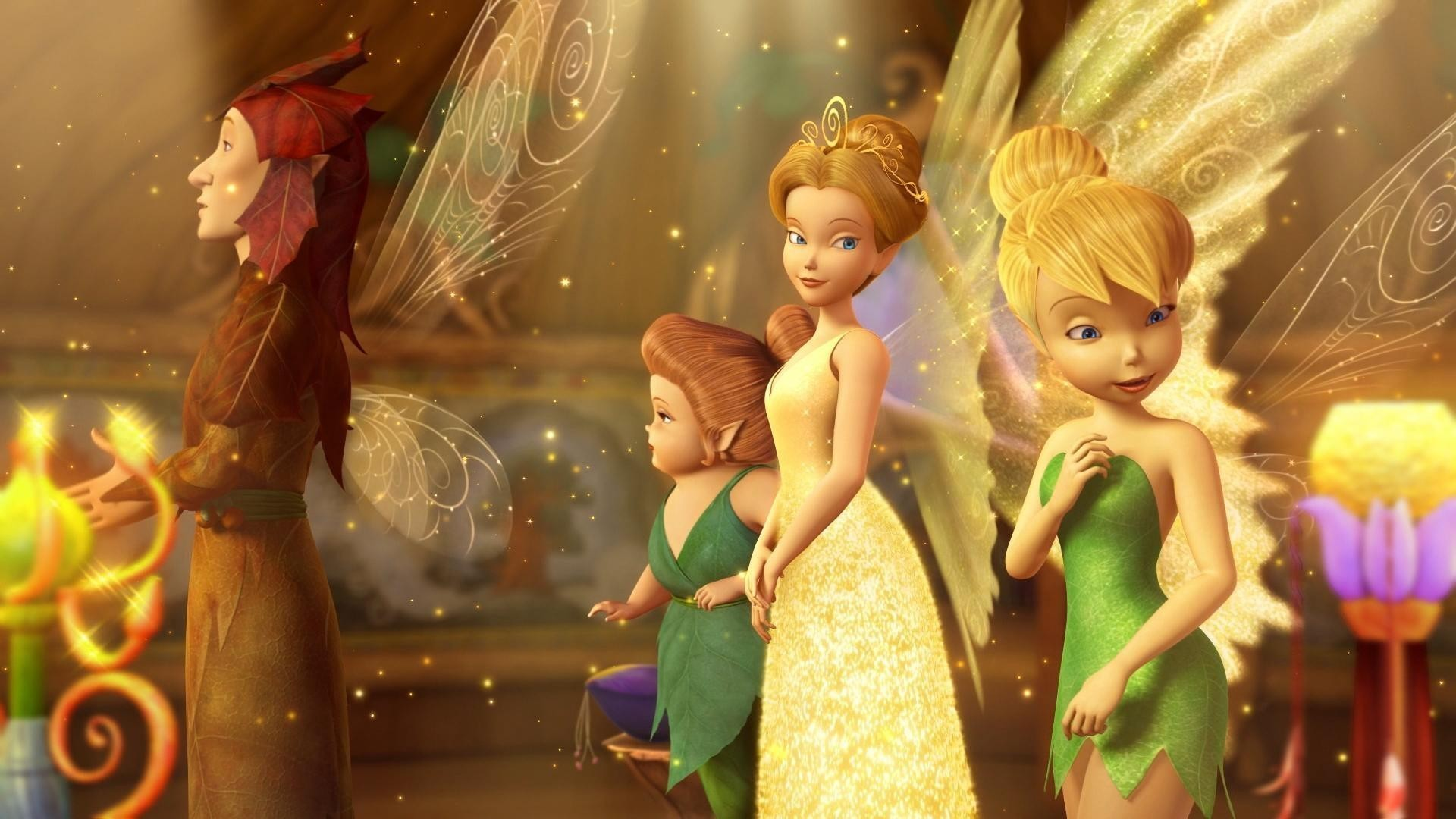 Res: 1920x1080, Tinkerbell and the Lost Treasure Wallpaper