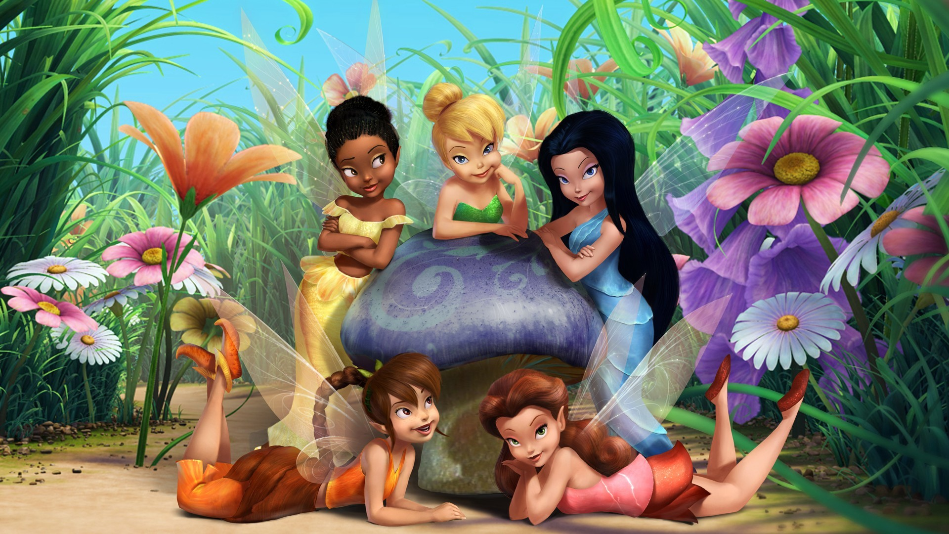 Res: 1920x1080, girl wallpaper animated tinkerbell