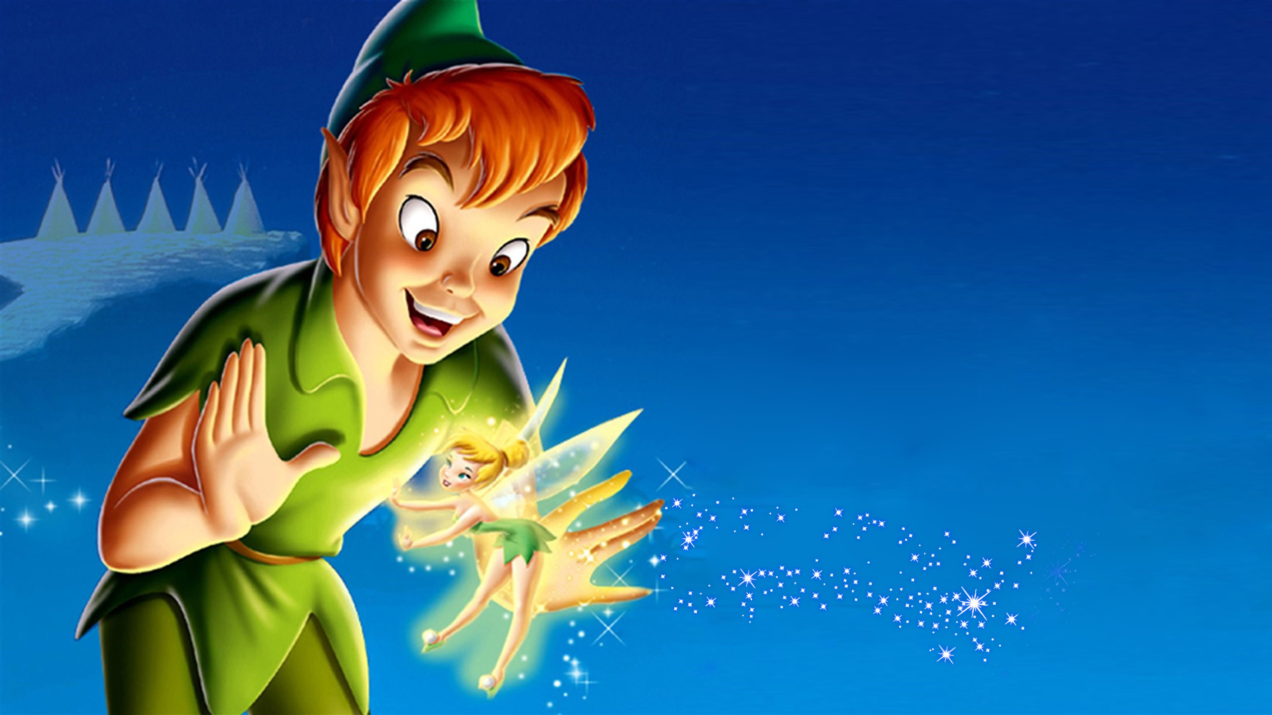 Res: 2560x1440, Peter Pan And Tinkerbell Desktop Hd Wallpapers For Mobile Phones And  Computer 2560×1440