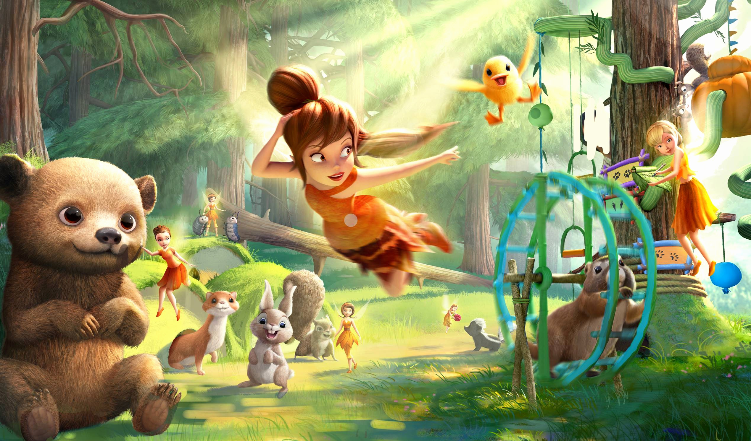 Res: 2538x1493, Tinkerbell Wallpaper Fresh Tinker Bell and the Legend the Neverbeast Wallpapers  Movie Hq