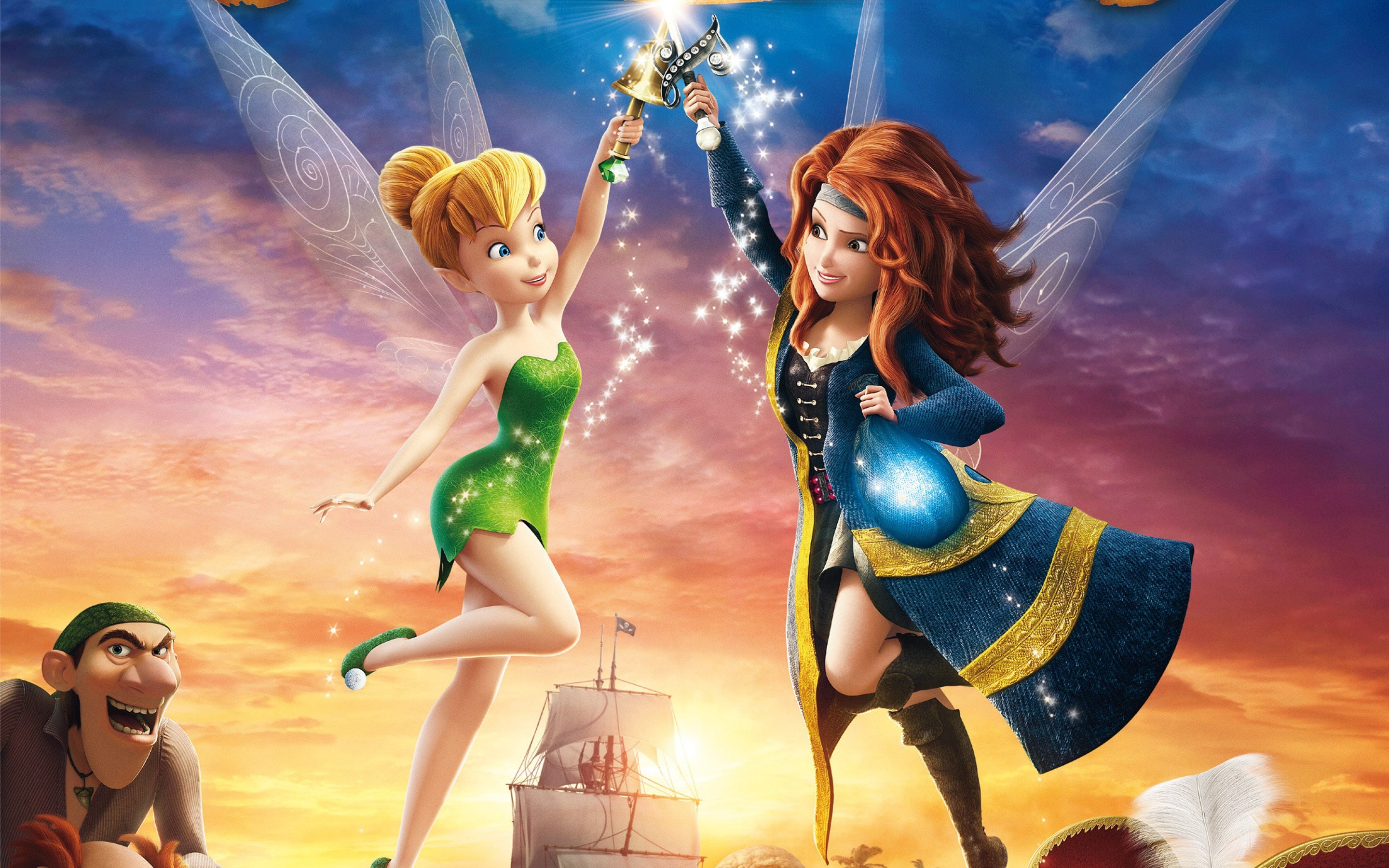 Res: 2880x1800, The Pirate Fairy HD