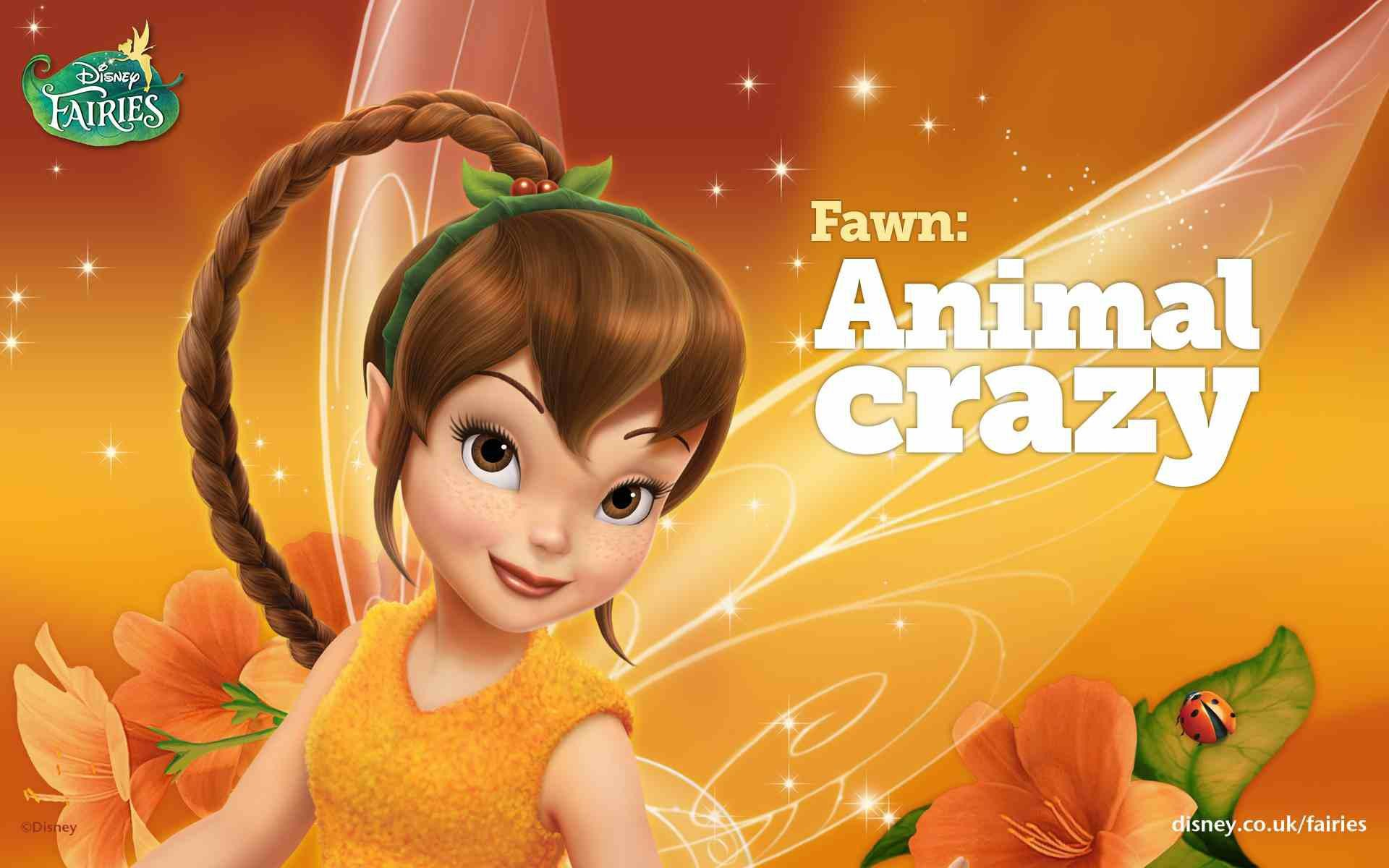 Res: 1920x1200, Disney Fairies Fawn Animal crazy.jpg
