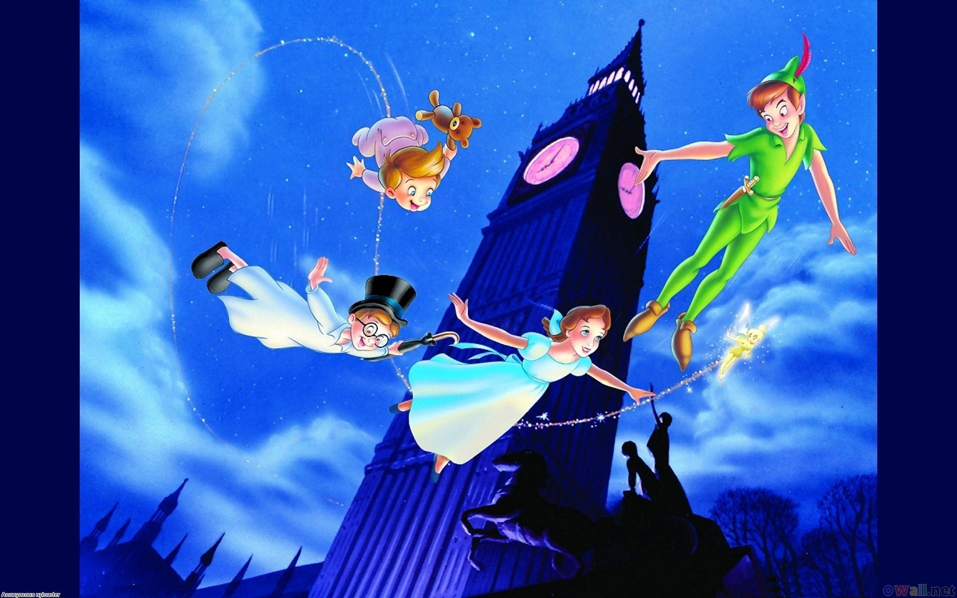 Res: 1920x1200, Peter Pan and Tinkerbell | Wallpapers Tinkerbell And Friends Peter Pan  Flight Around London Open .