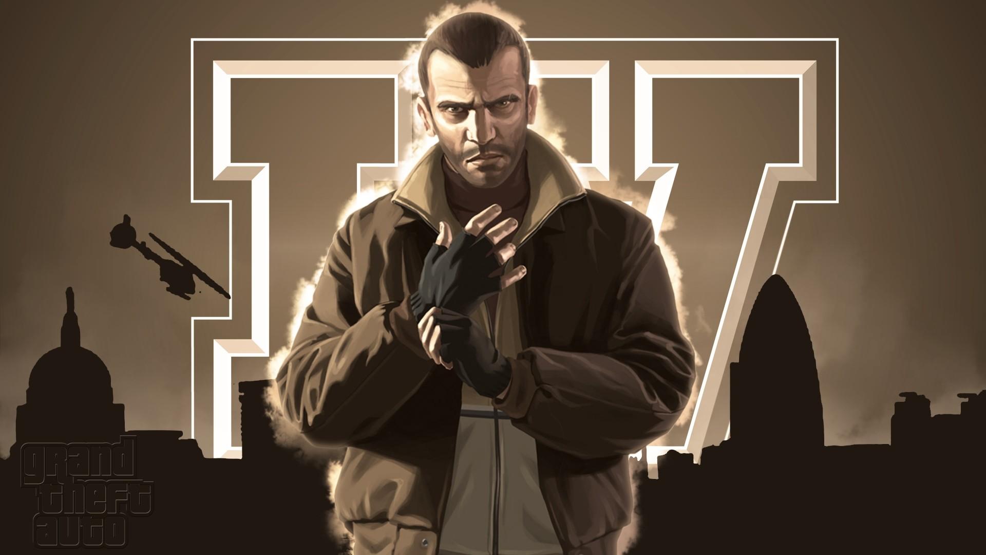 Res: 1920x1080, Niko Grand Theft Auto IV