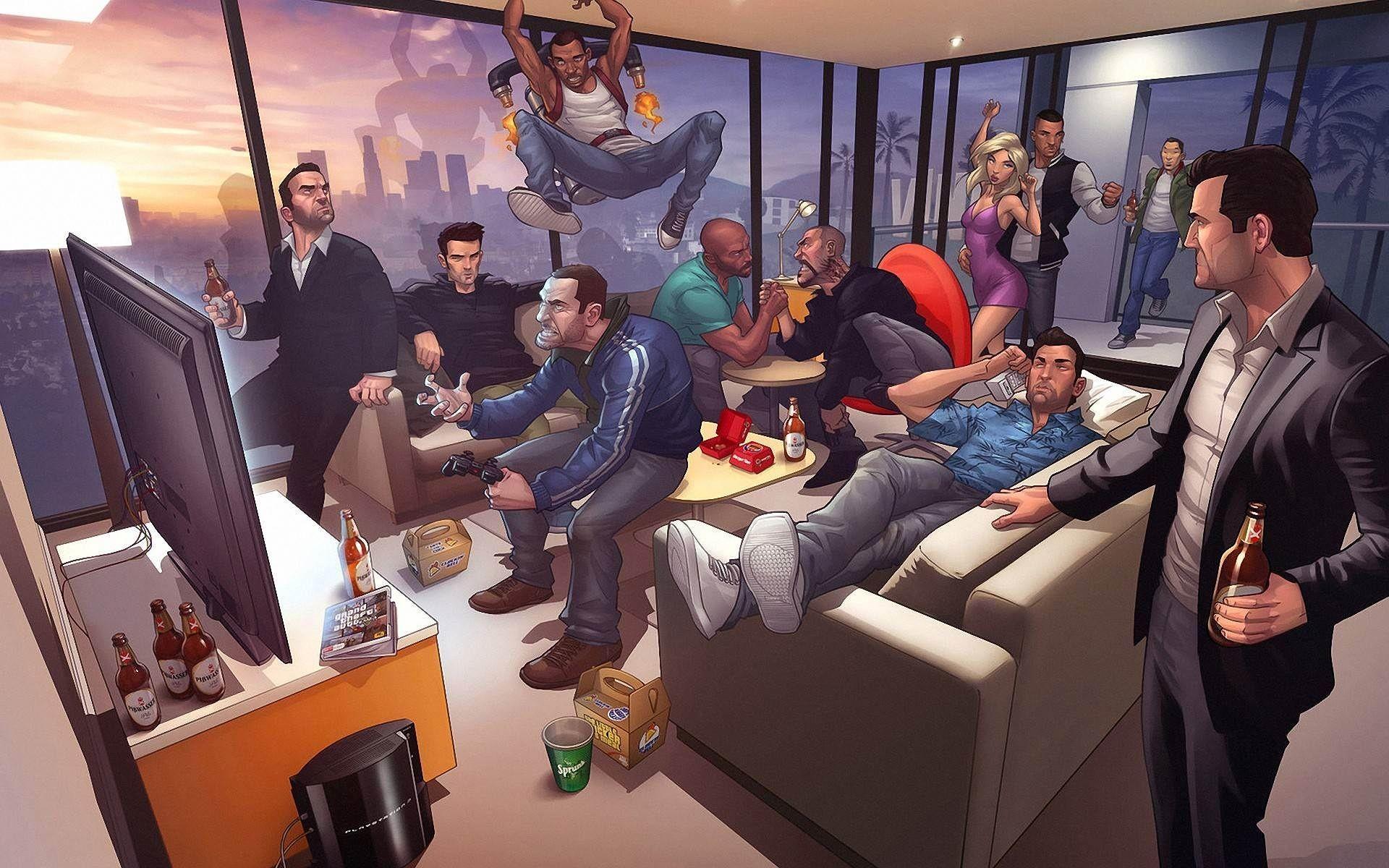 Res: 1920x1200, GTA IV Wallpaper Grand Theft Auto Wallpaper 1920×1200 Gta Iv | Adorable  Wallpapers