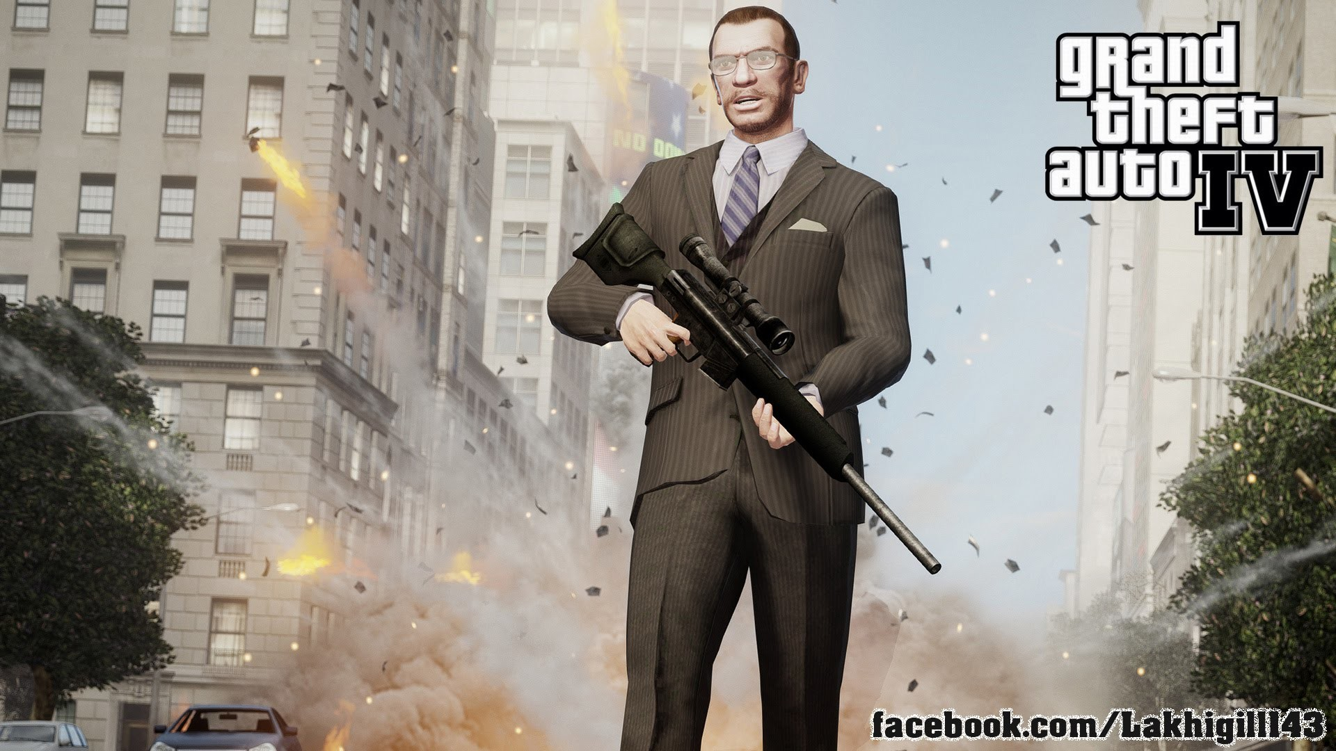 Res: 1920x1080, Grand Theft Auto IV HD Wallpapers 11 - 1920 X 1080