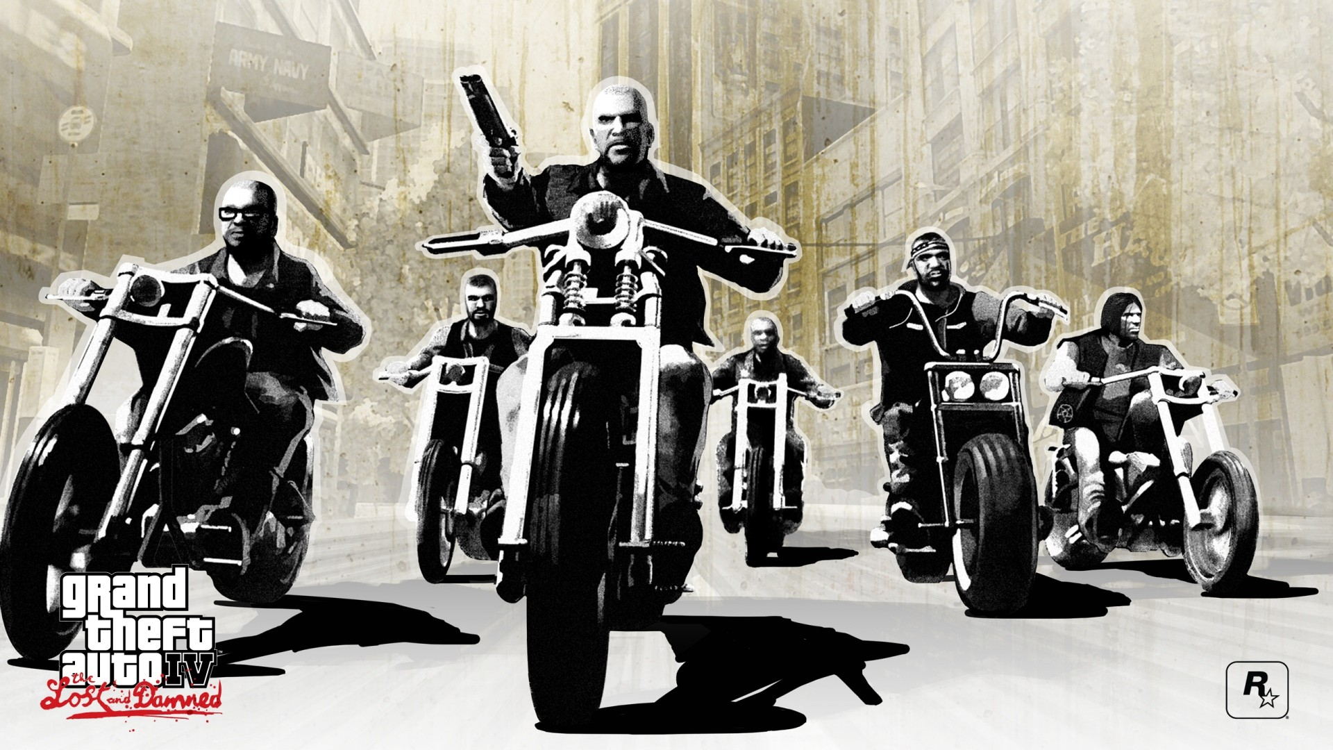 Res: 1920x1080, gta 4 lost and damned, grand theft auto 4 lost and damned, bikers