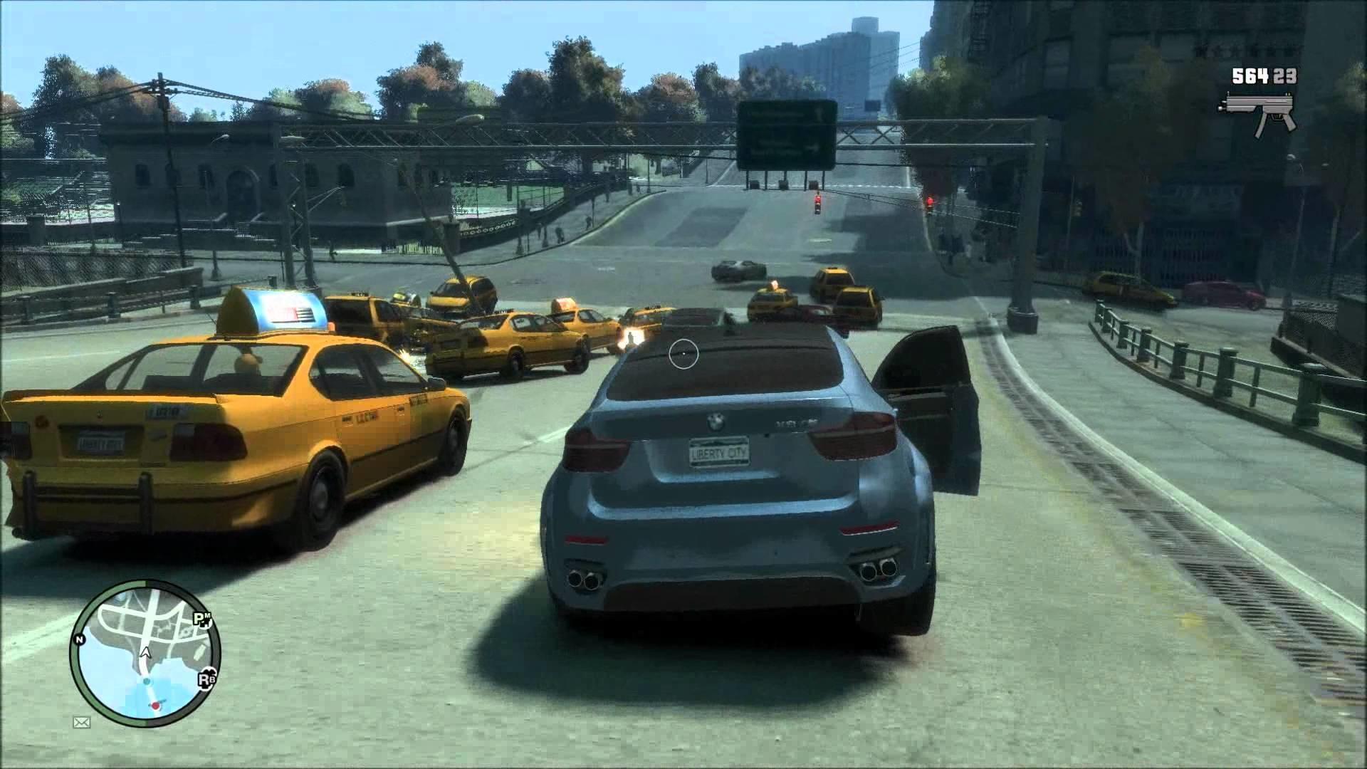 Res: 1920x1080, Grand Theft Auto IV (GTA 4)