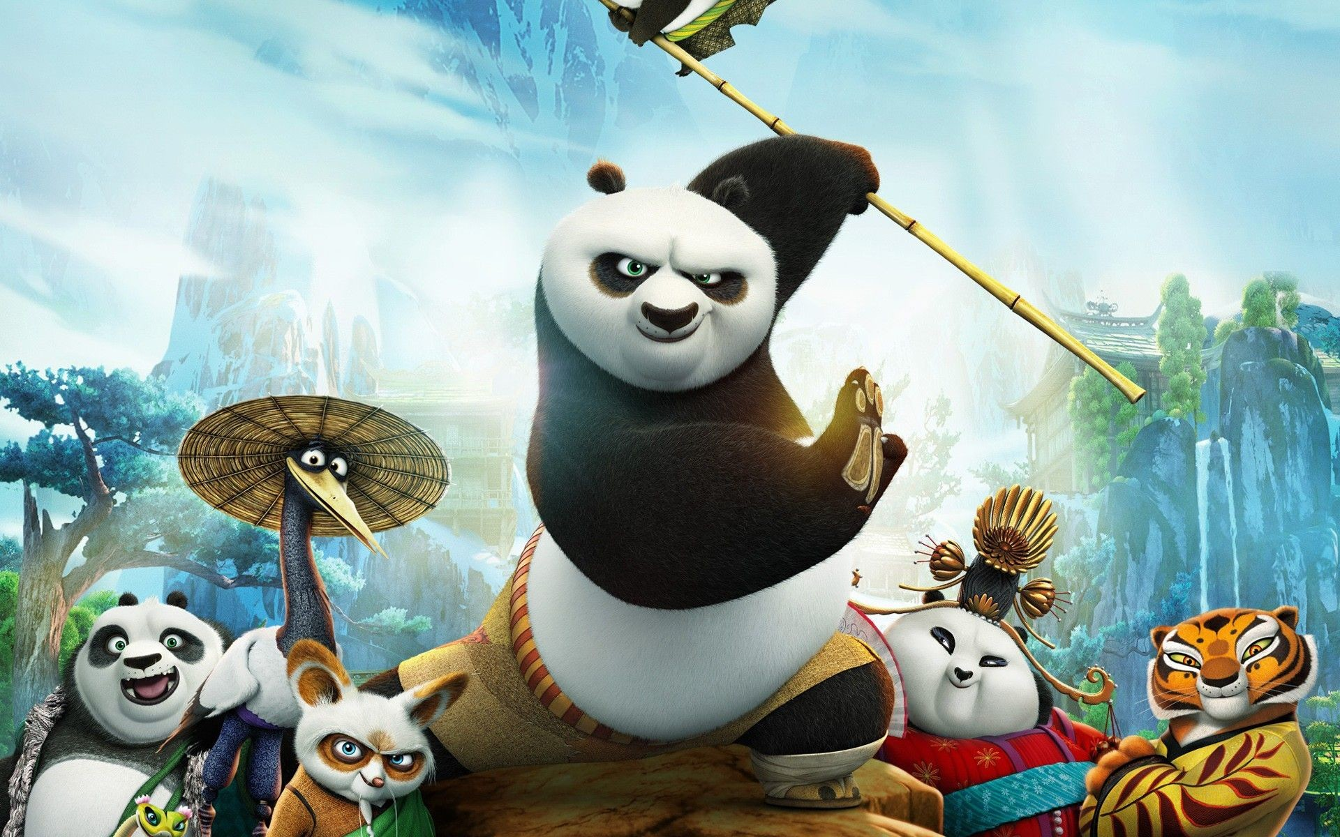 Res: 1920x1200, Kung Fu Panda HD Wallpapers Backgrounds Wallpaper 1024×768 Kung Fu Panda 3  Wallpapers (