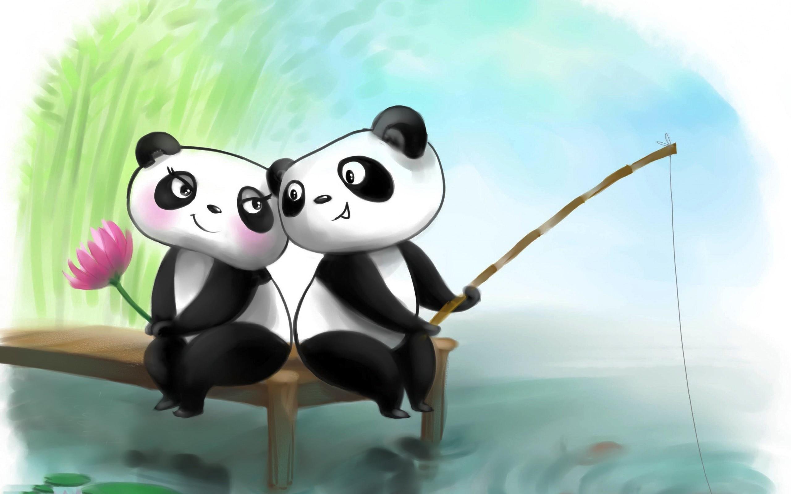 Res: 2560x1600, Romantic-panda-couple-HD-wallpaper-81129712.jpg
