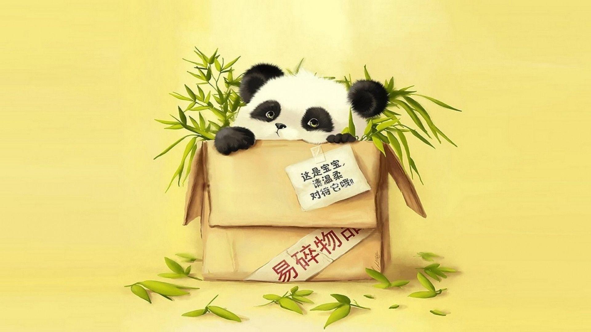 Res: 1920x1080, Funny Cartoon Panda Wallpaper - Cartoon Wallpapers (10007) ilikewalls.
