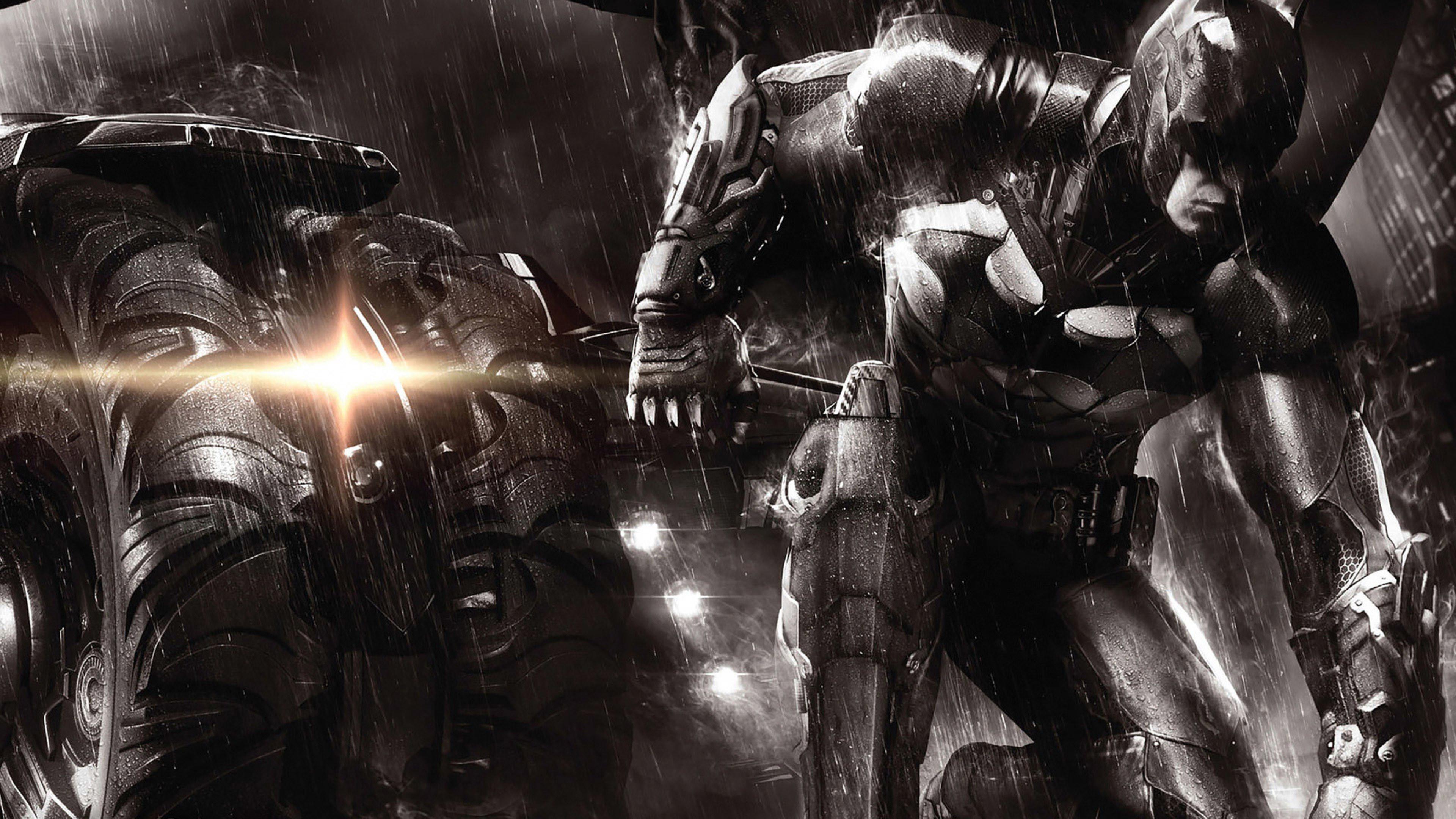 Res: 3840x2160, 2014 Batman Arkham Knight Wallpaper
