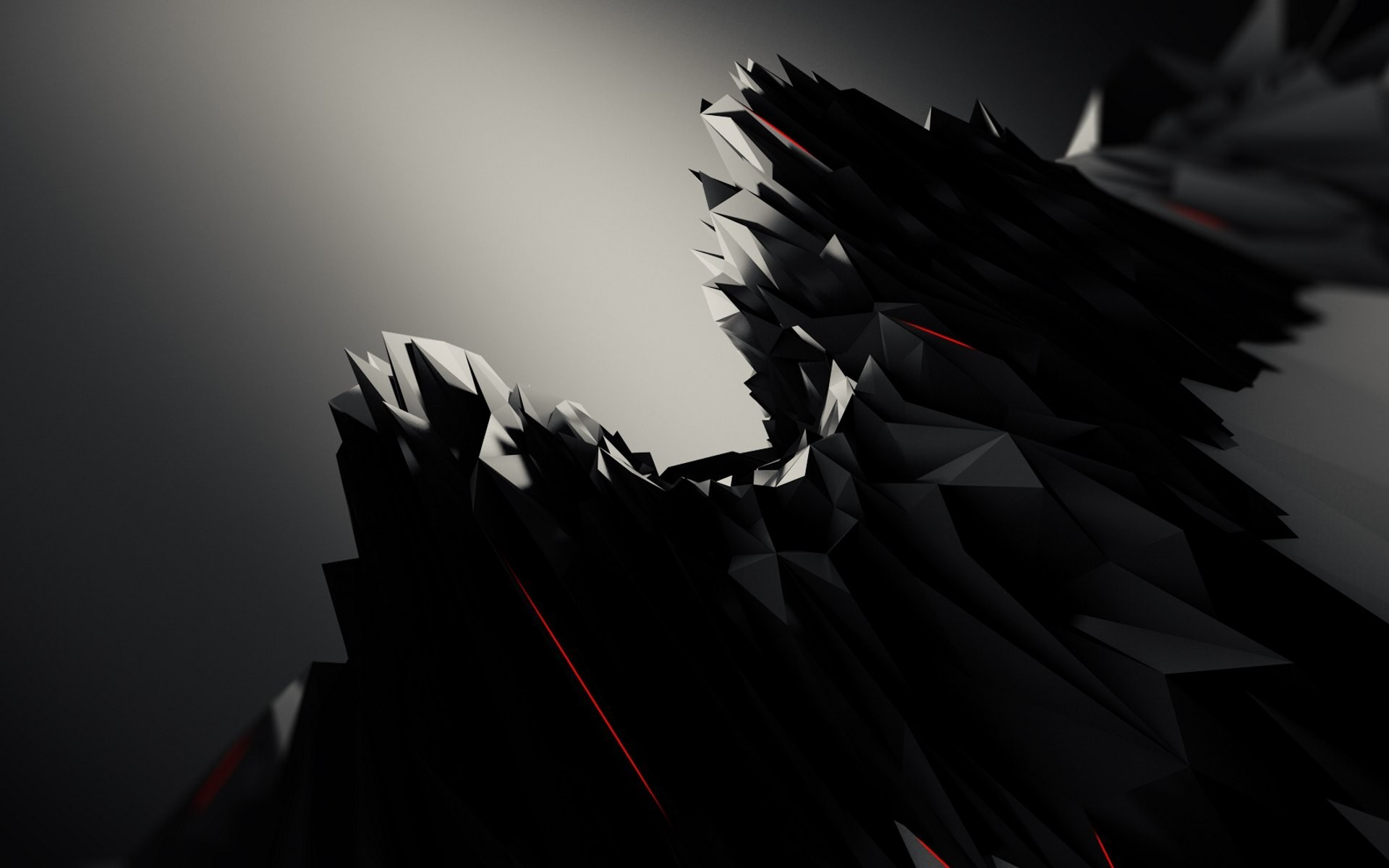 Res: 1920x1200, abstract, Black, Graphic Design Wallpapers HD / Desktop and Mobile  Backgrounds