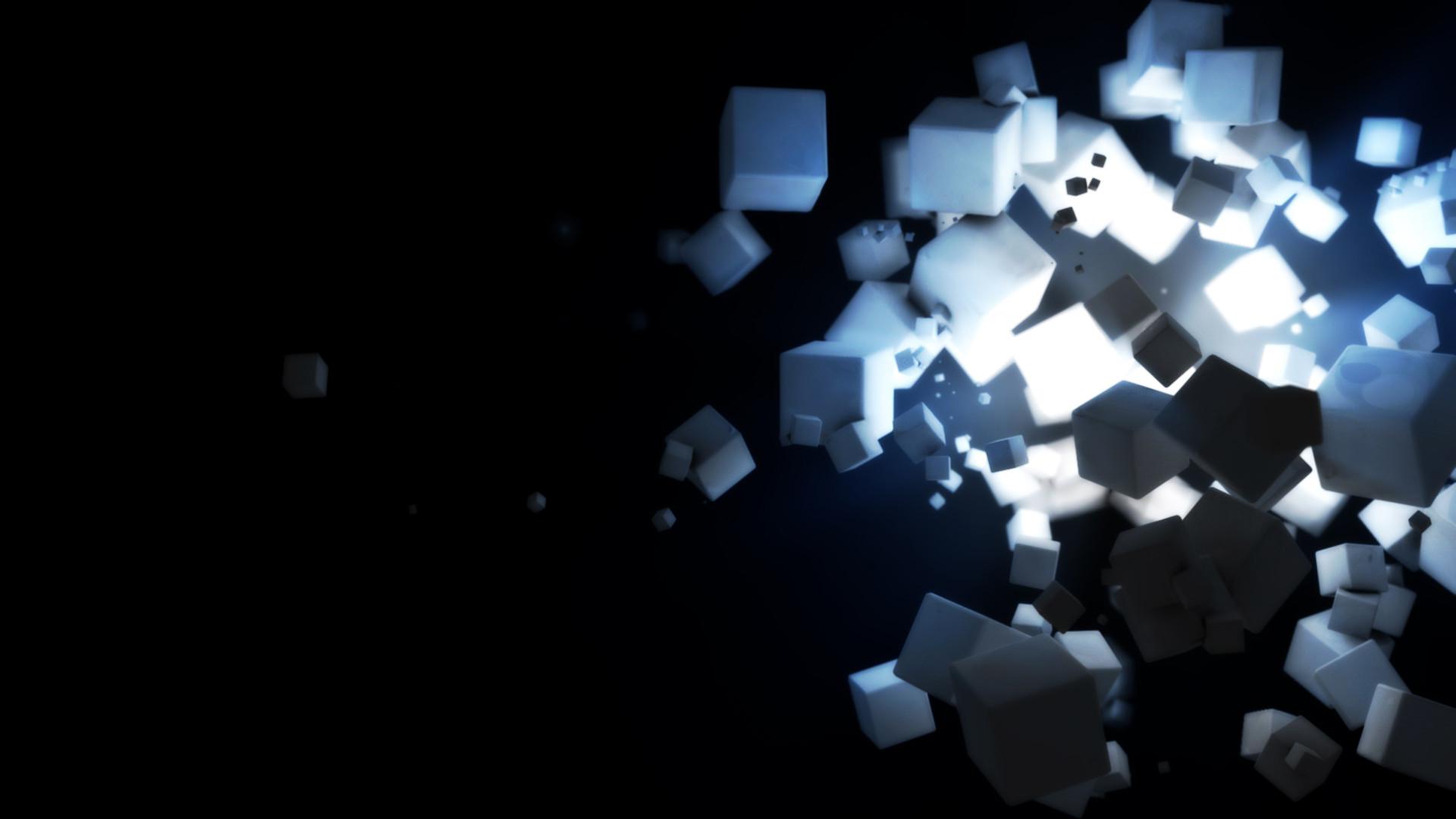 Res: 1920x1080, Tags: Dark Cubes