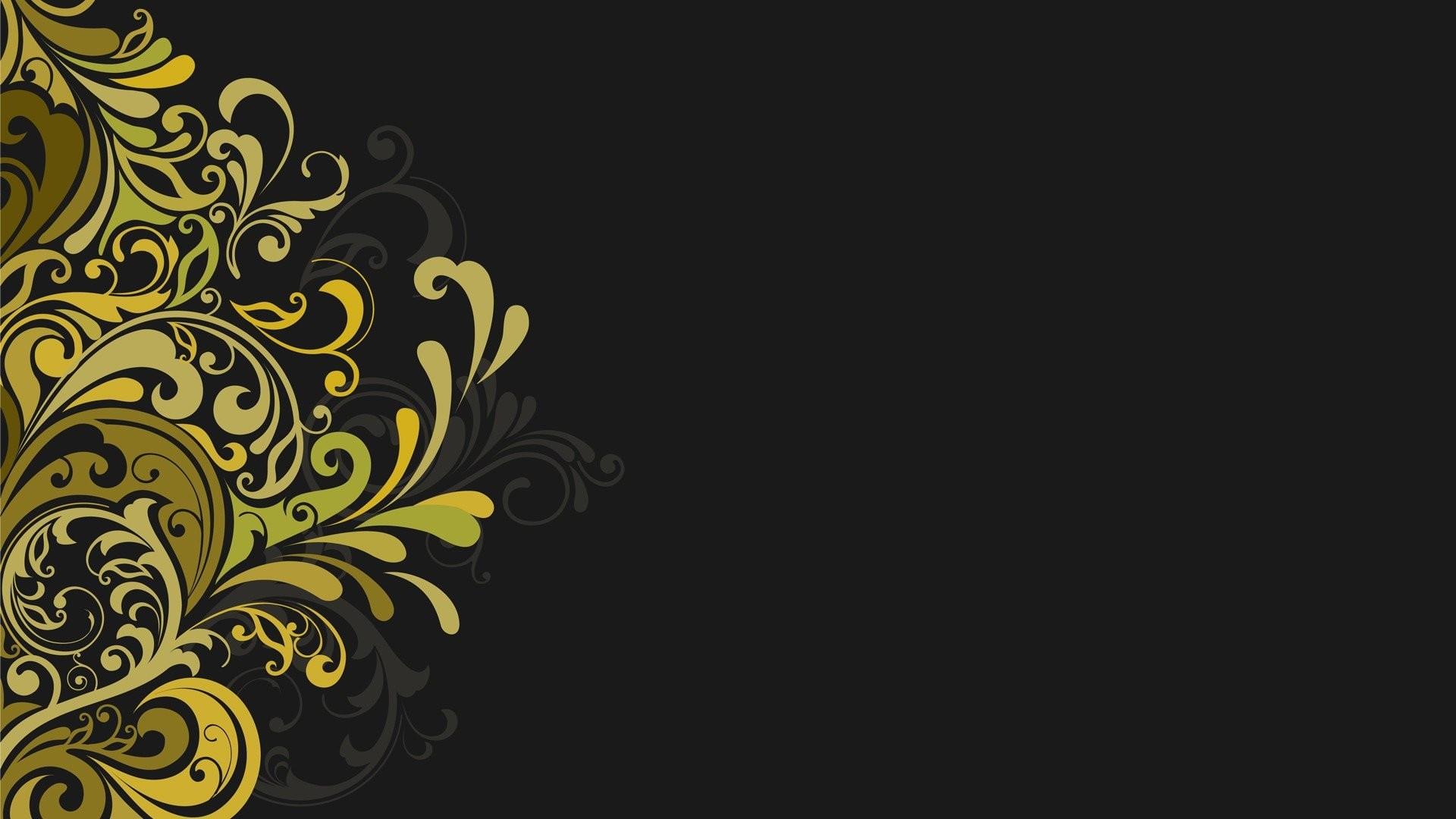 Res: 1920x1080, Vectors floral graphics grey background wallpaper |  | 320887 |  WallpaperUP