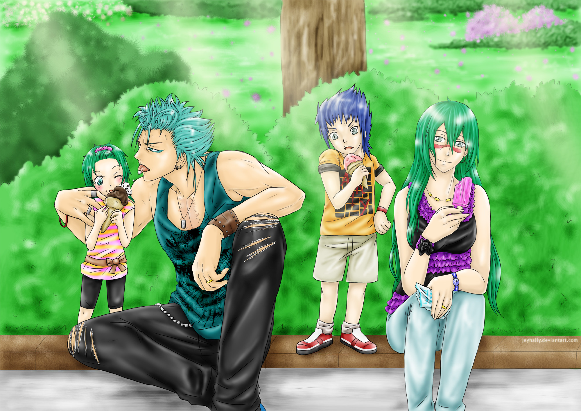 Res: 2000x1414, Astral-17 5 3 Bleach - Ice cream in family by JeyHaily