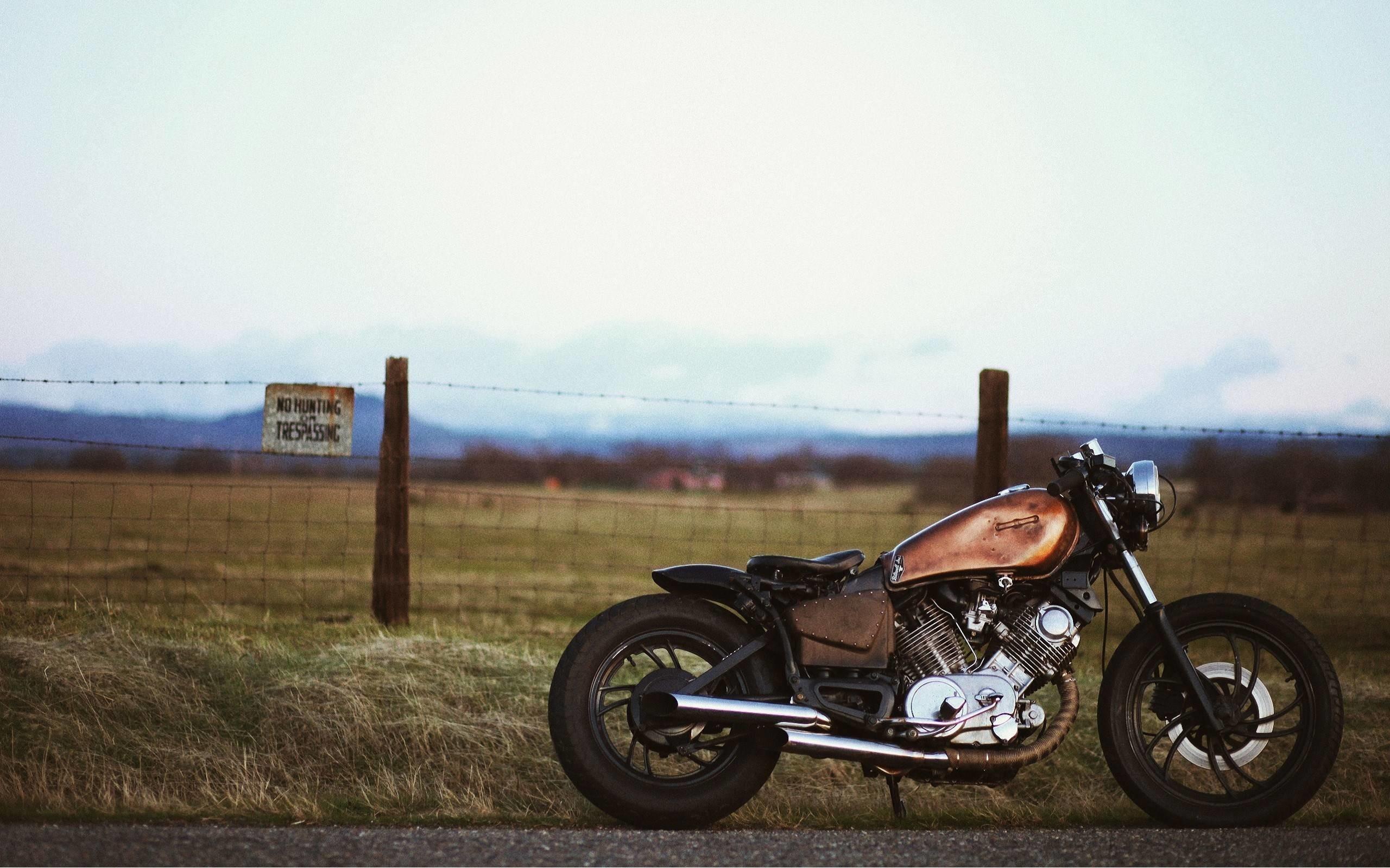 Res: 2560x1600, Yamaha XV750 Bobber wallpapers