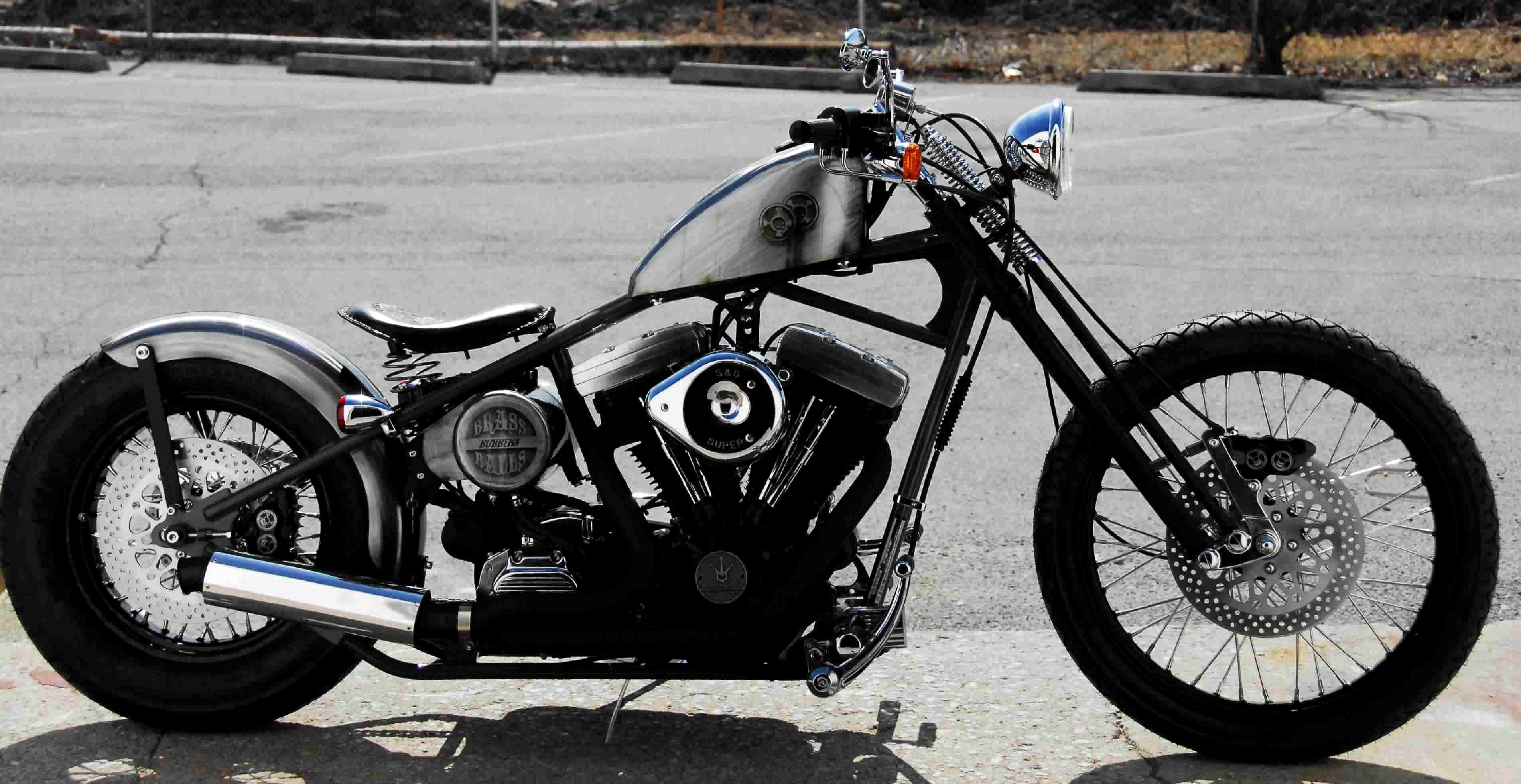 Res: 3814x1967, Bobber Motorcycle high definition wallpapers