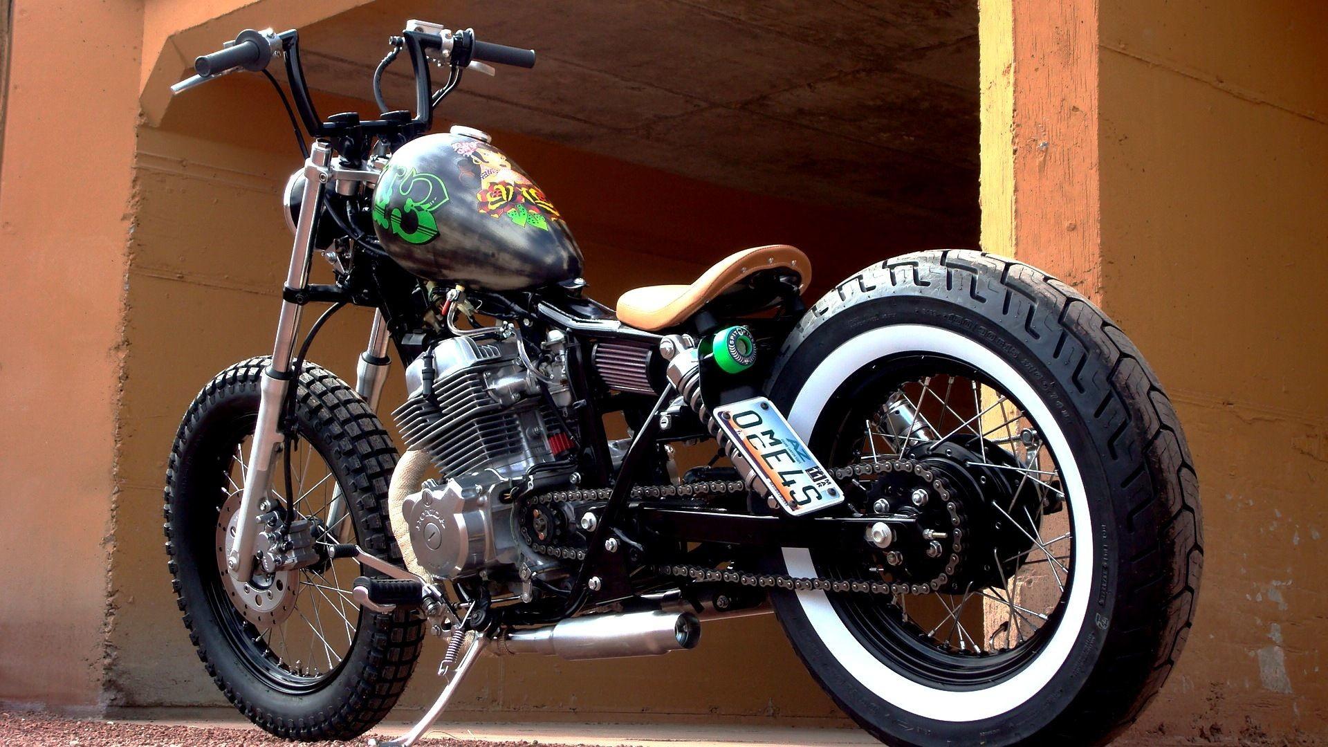 Res: 1920x1080, #honda#rebel#bobber#motorcycle