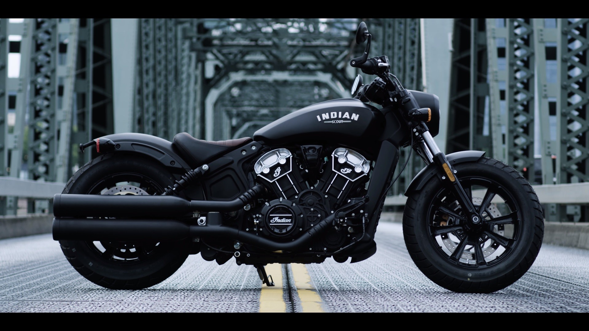 Res: 1920x1080, 2018 Indian Scout Bobber | Top Speed. »