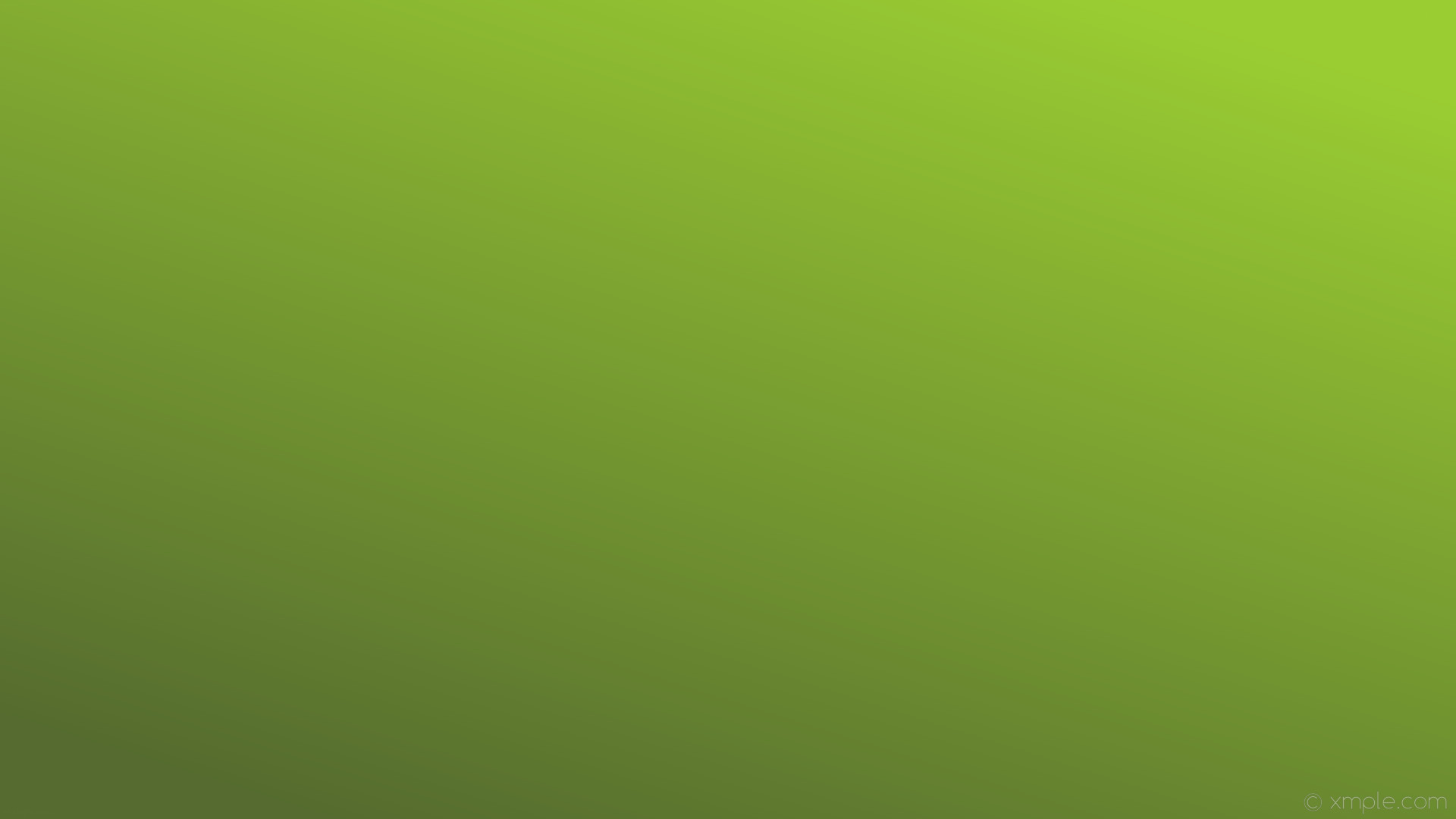 Res: 1920x1080, wallpaper linear green gradient yellow green dark olive green #9acd32  #556b2f 45°