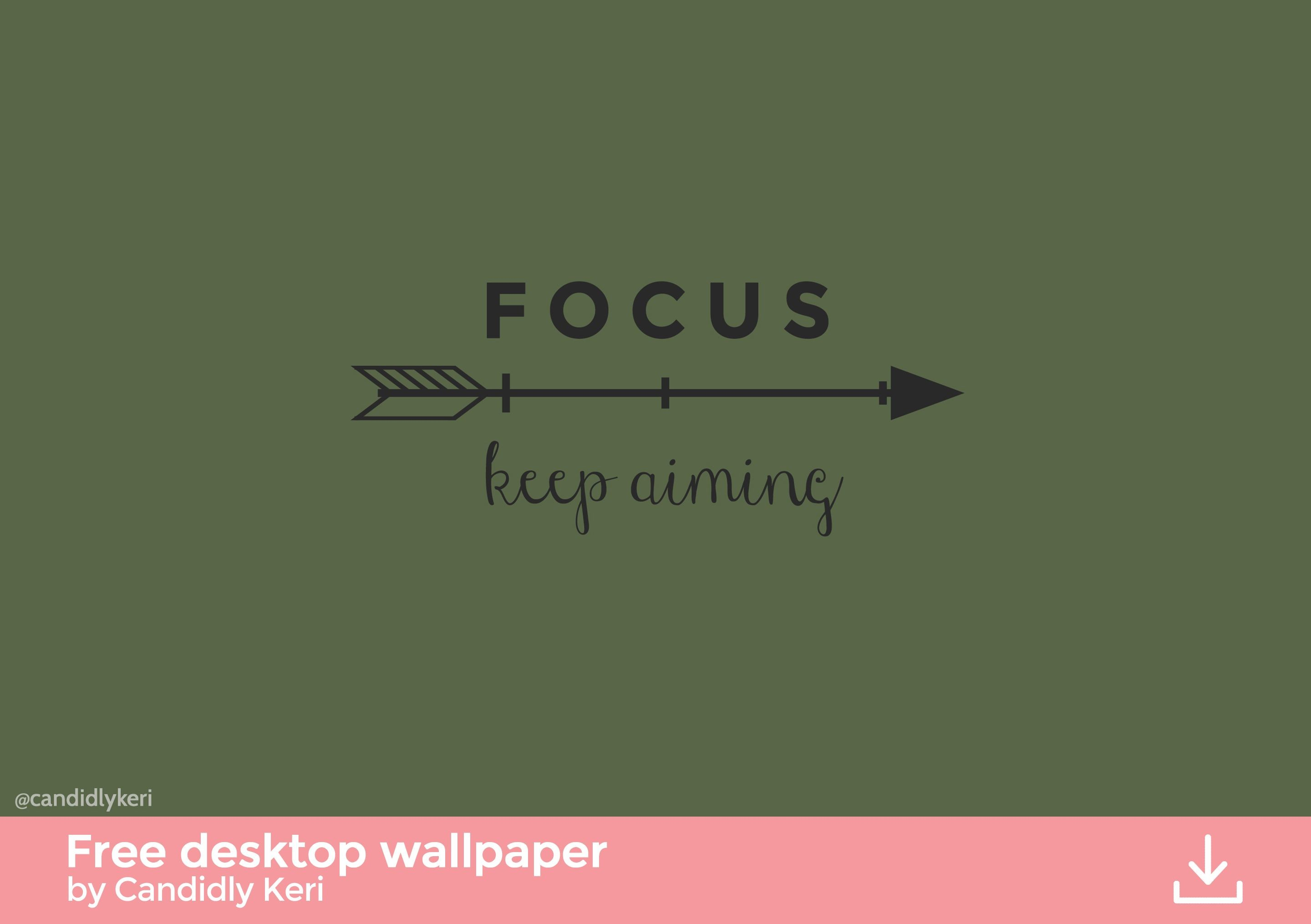 Res: 2880x2030, Olive Green, army green arrow quote, focus keep aiming wallpaper you can  download for