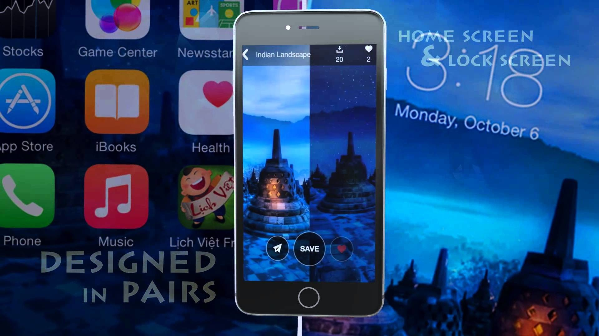 Res: 1920x1080, Wallpaper - Cool Home & Lock Screen for iPhone & iPad of PPCLINK Software -  YouTube