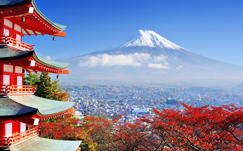 Res: 2880x1800, Mount Fuji Mountain