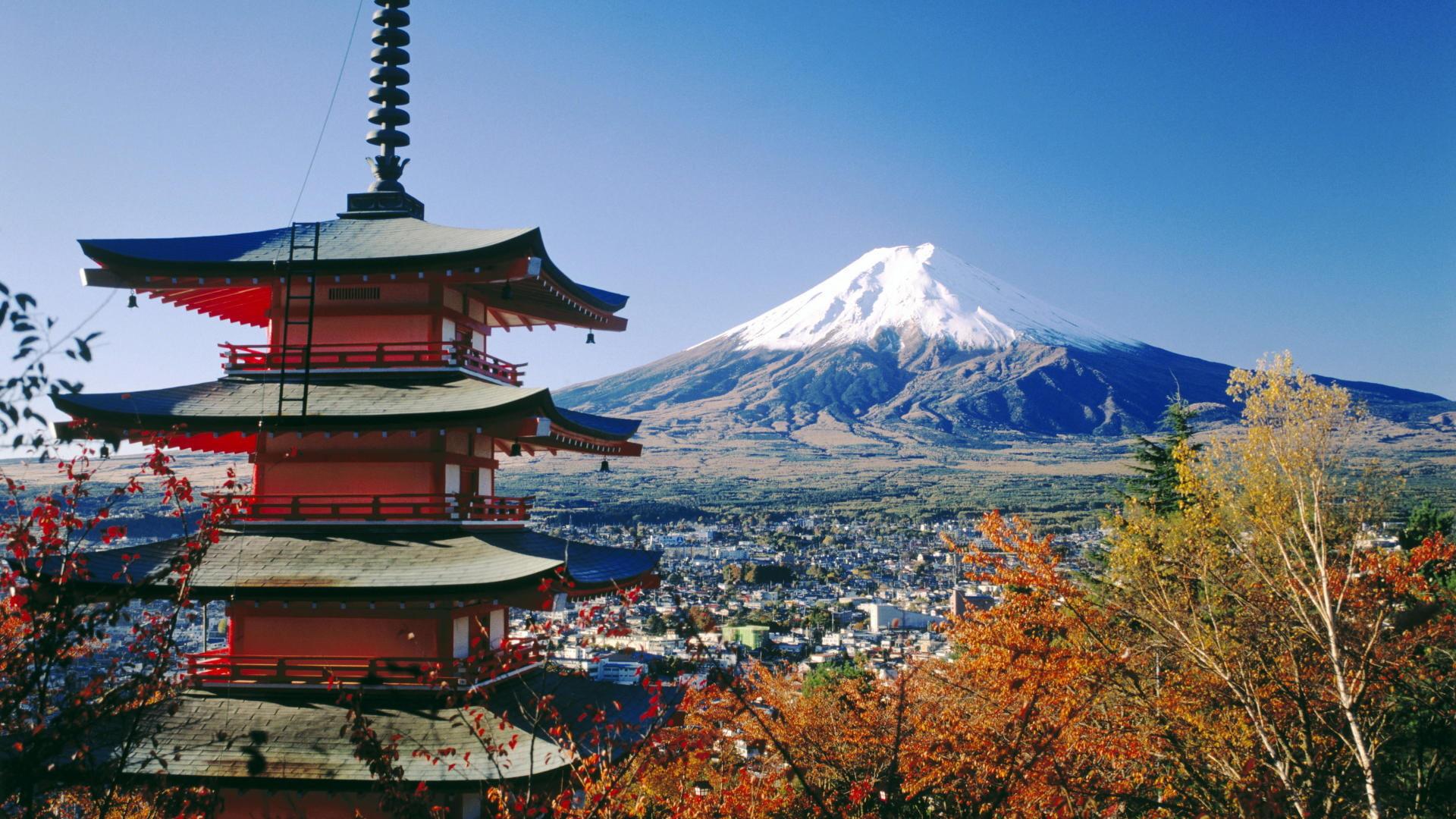 Res: 1920x1080, Mt. Fuji Japan HD wallpaper