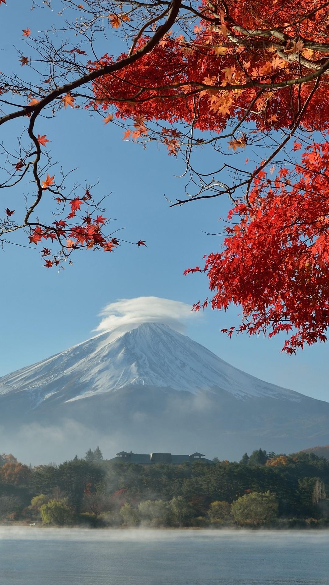 Res: 1080x1920, Mount Fuji Wallpaper