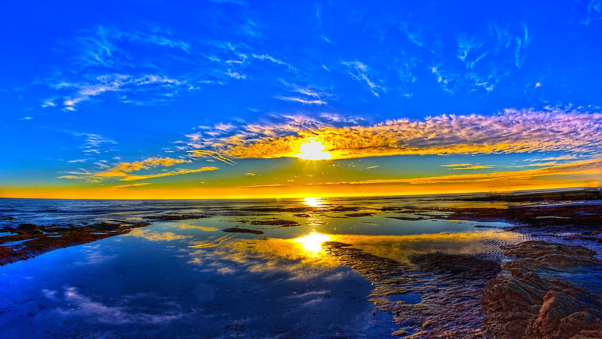 Res: 1920x1080, Beautiful Sunrise