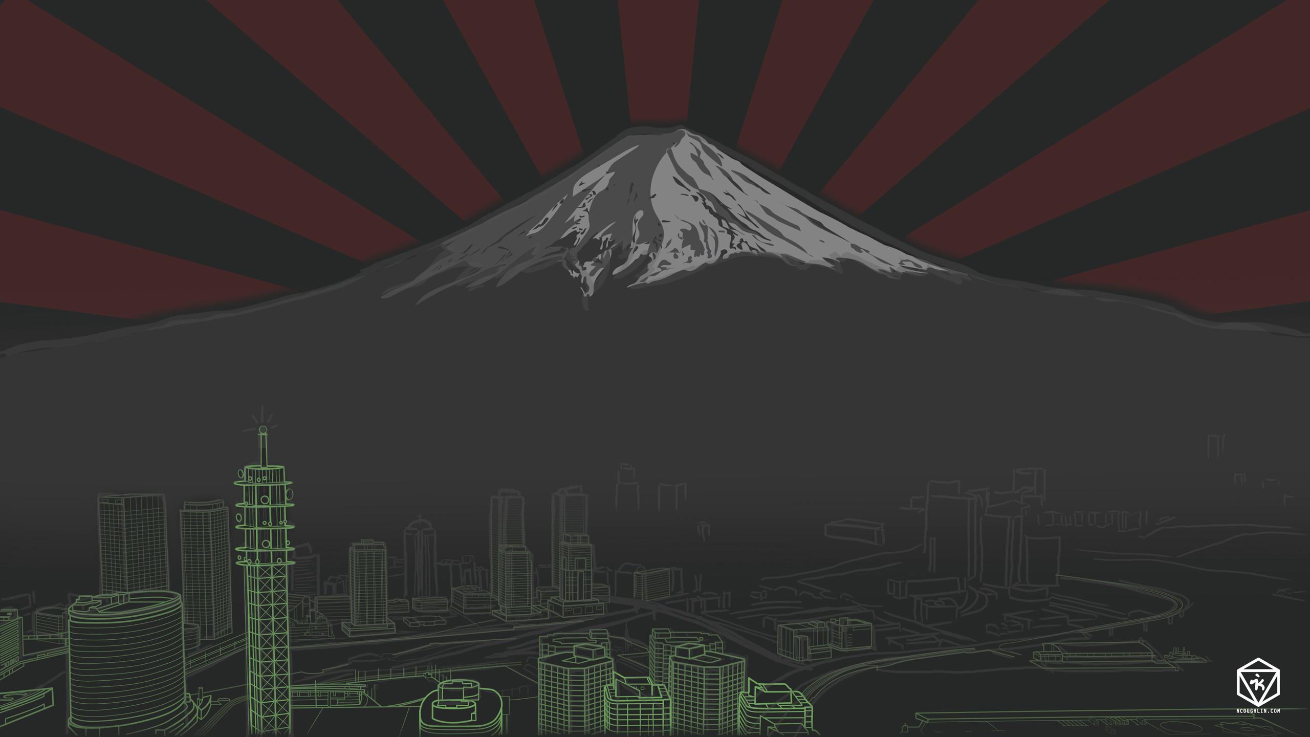 Res: 2560x1440, DOWNLOAD HD Wallpaper – Mt. Fuji (2560 x 1440)