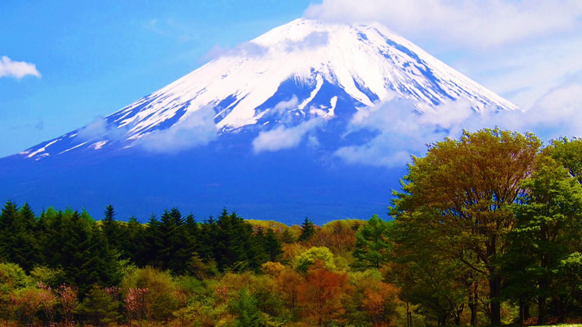 Res: 1920x1080, Mount Fuji Mountain Wallpaper