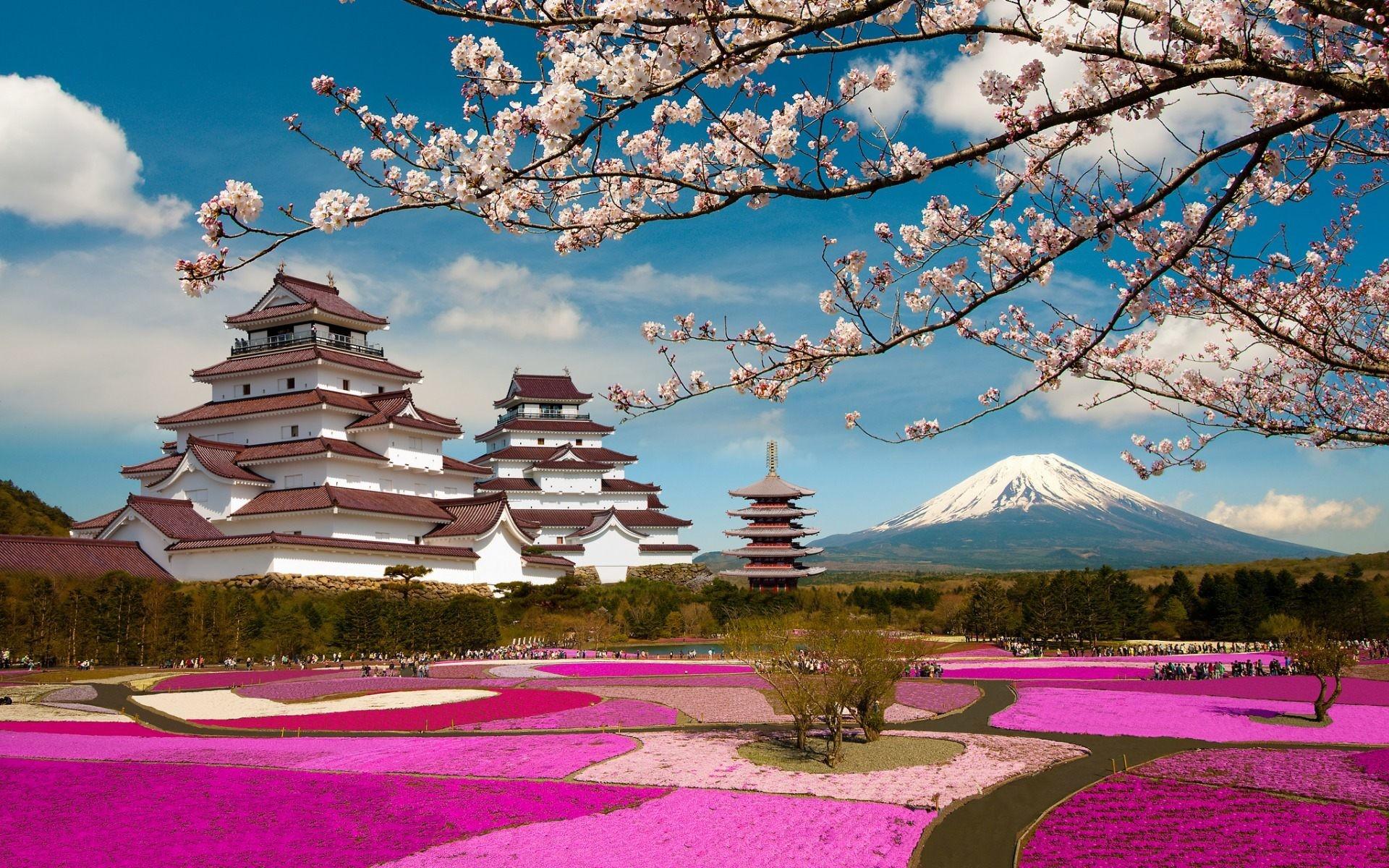 Res: 1920x1200, Mt Fuji Japan Scenery Wallpaper HD Download For Desktop