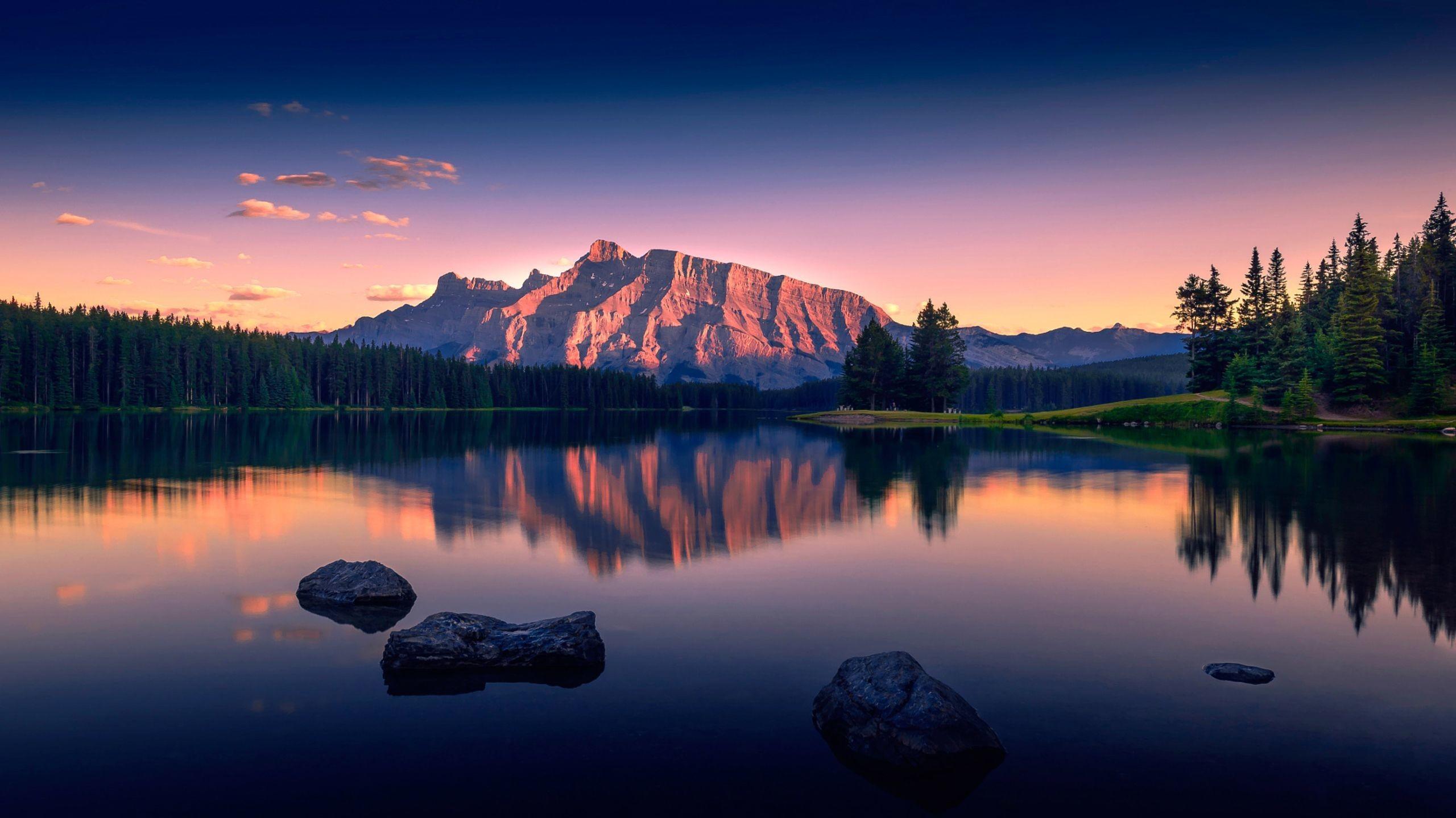 Res: 2560x1440,  wallpaper.wiki-Cool-Nature-Lake-2560-x-1440