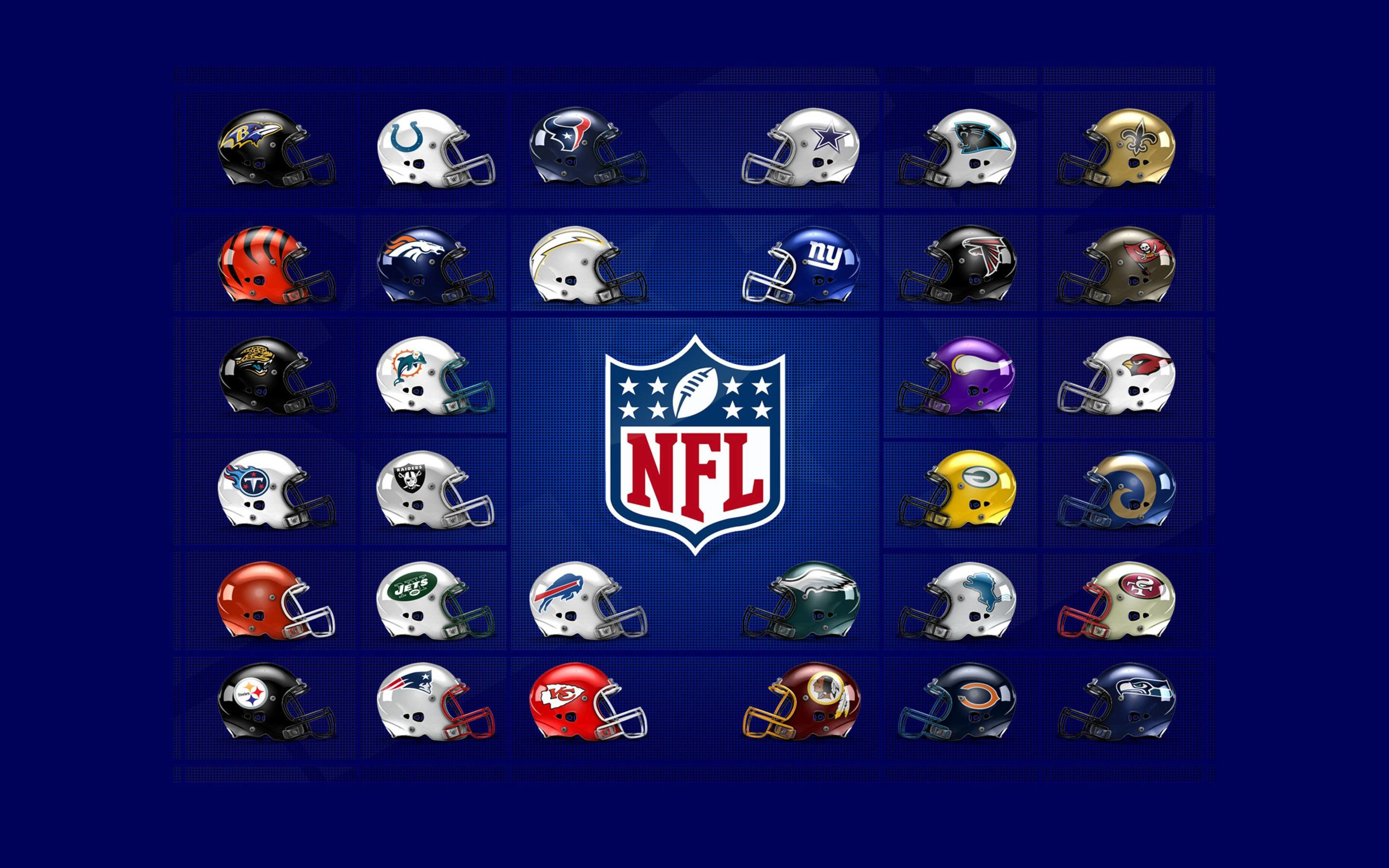 Res: 2880x1800, NFL Logos Wallpaper Wide or HD | Sports Wallpapers
