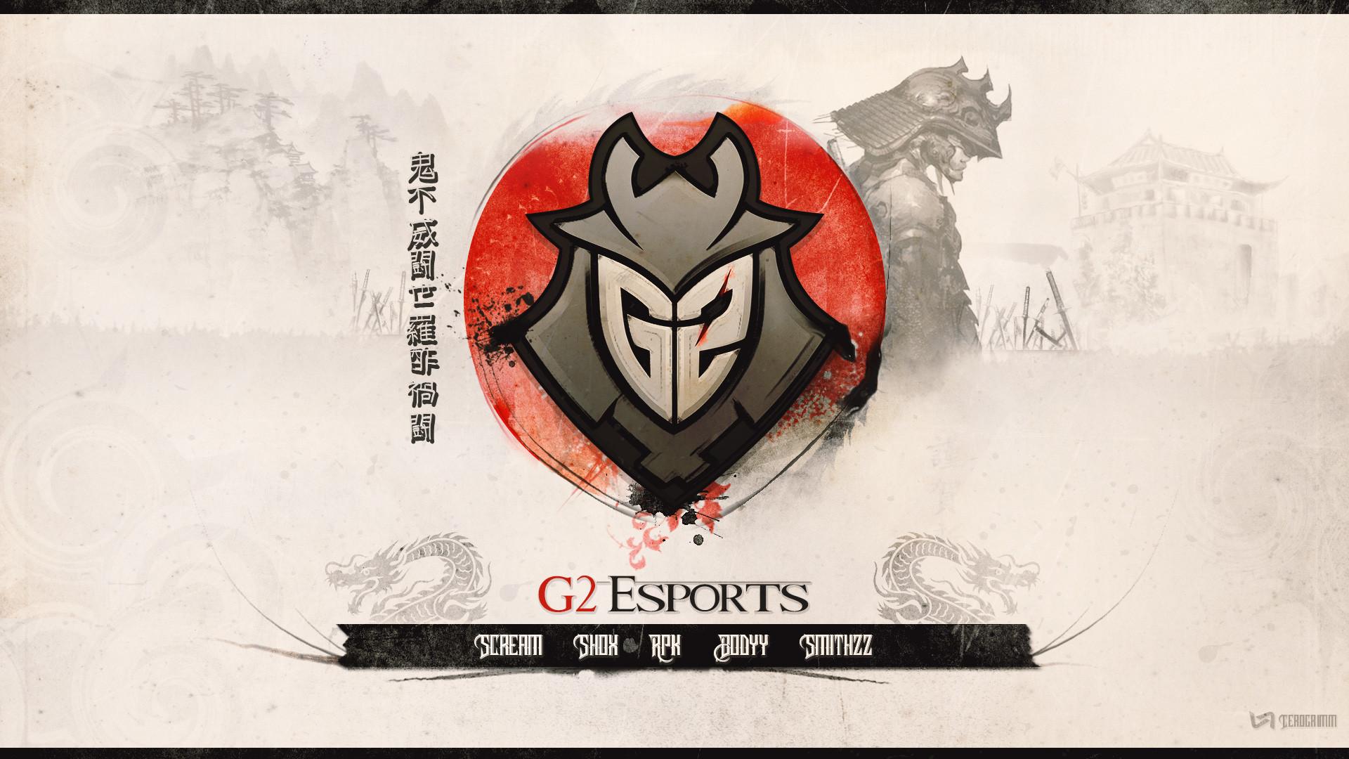 Res: 1920x1080, G2 CS:GO wallpaper by Cerogrimm
