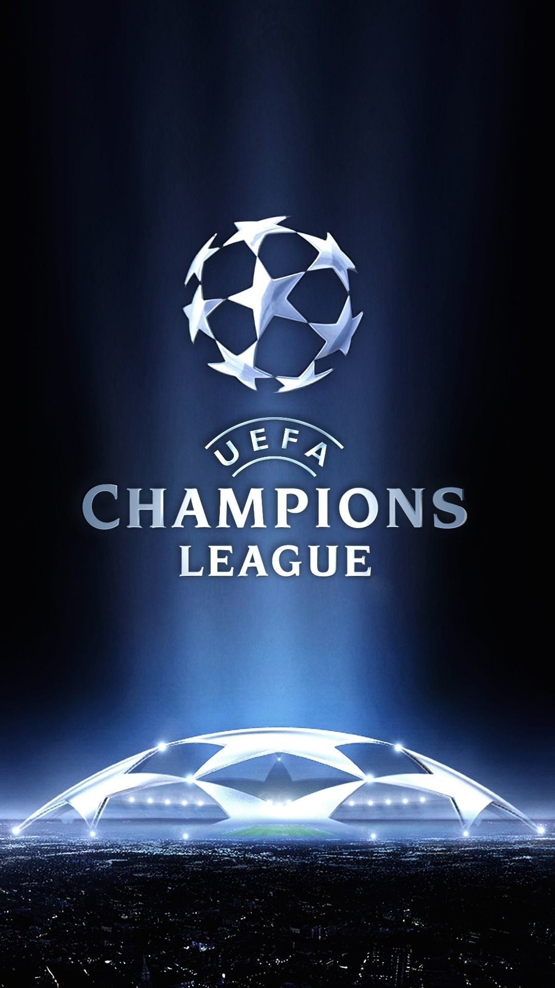 Res: 1080x1920, Sport UEFA Champions League Logo Navy Blue