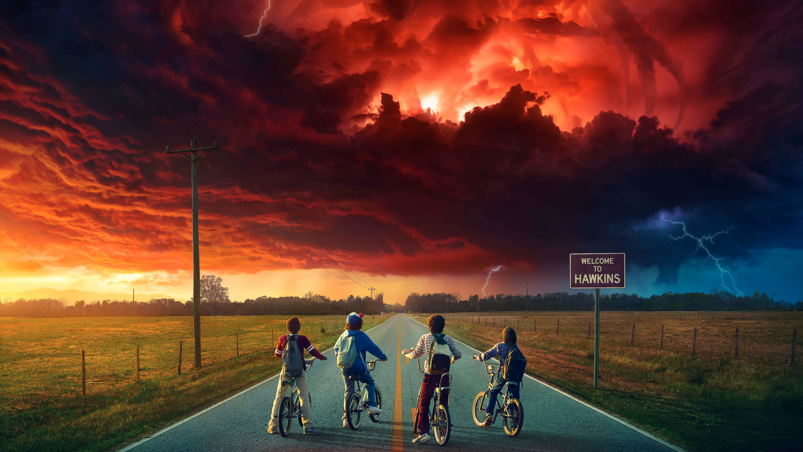 Res: 2560x1440,  Stranger Things 5k 1440P Resolution HD 4k Wallpapers, Images,  Backgrounds, Photos and Pictures