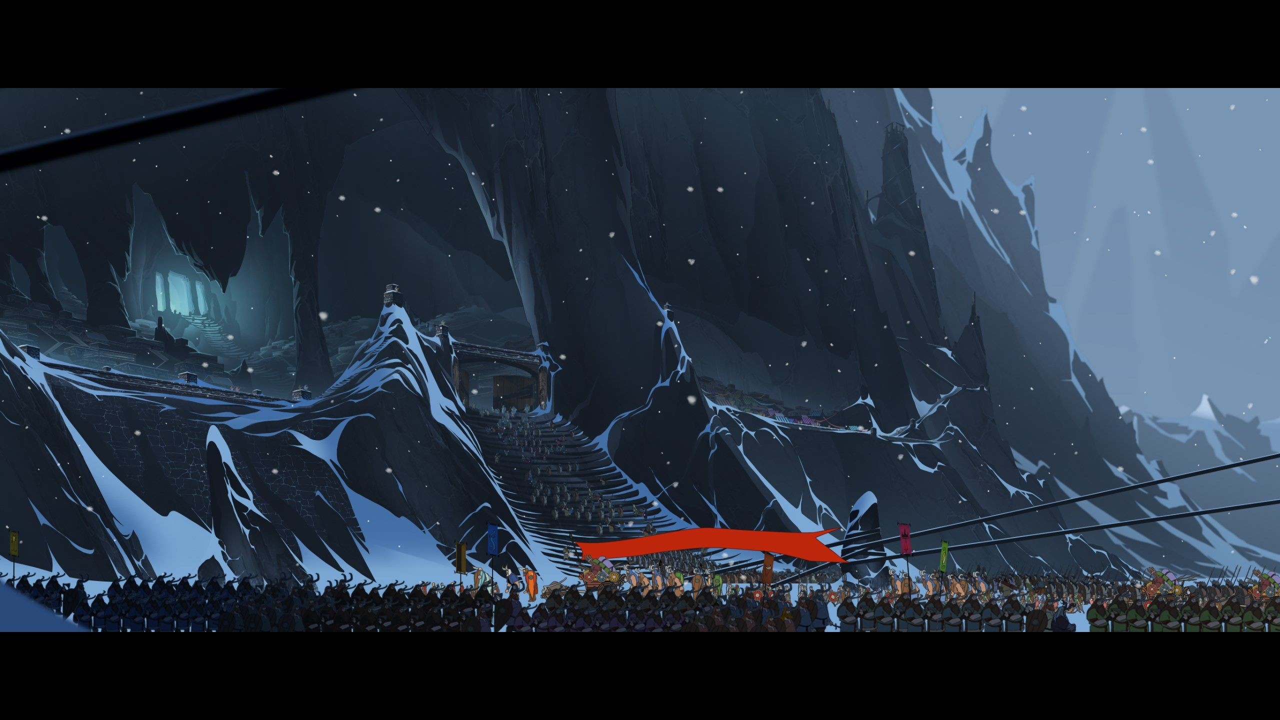 Res: 2560x1440,  wallpapers free the banner saga