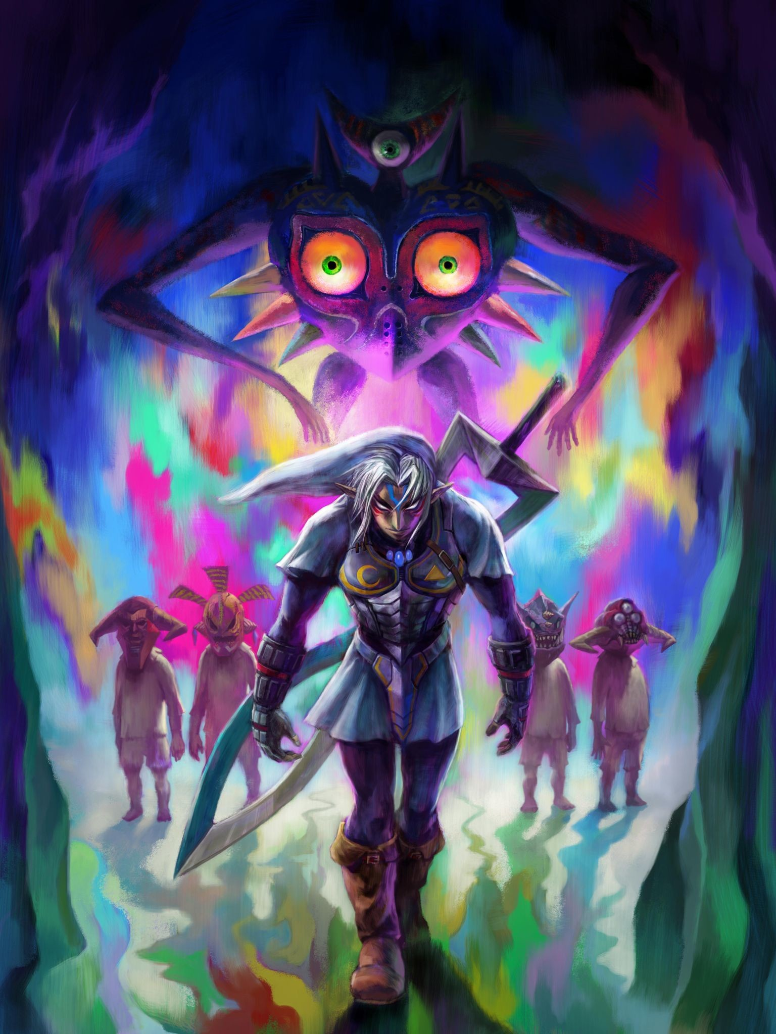 Majoras Mask wallpapers - HD wallpaper Collections ...