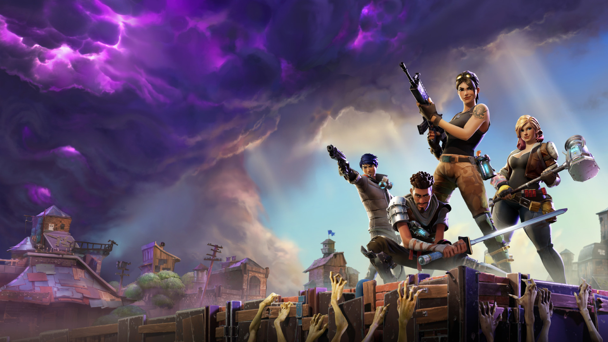 Res: 2560x1440,  Fortnite HD 1440P Resolution HD 4k Wallpapers, Images, Backgrounds,  Photos and Pictures