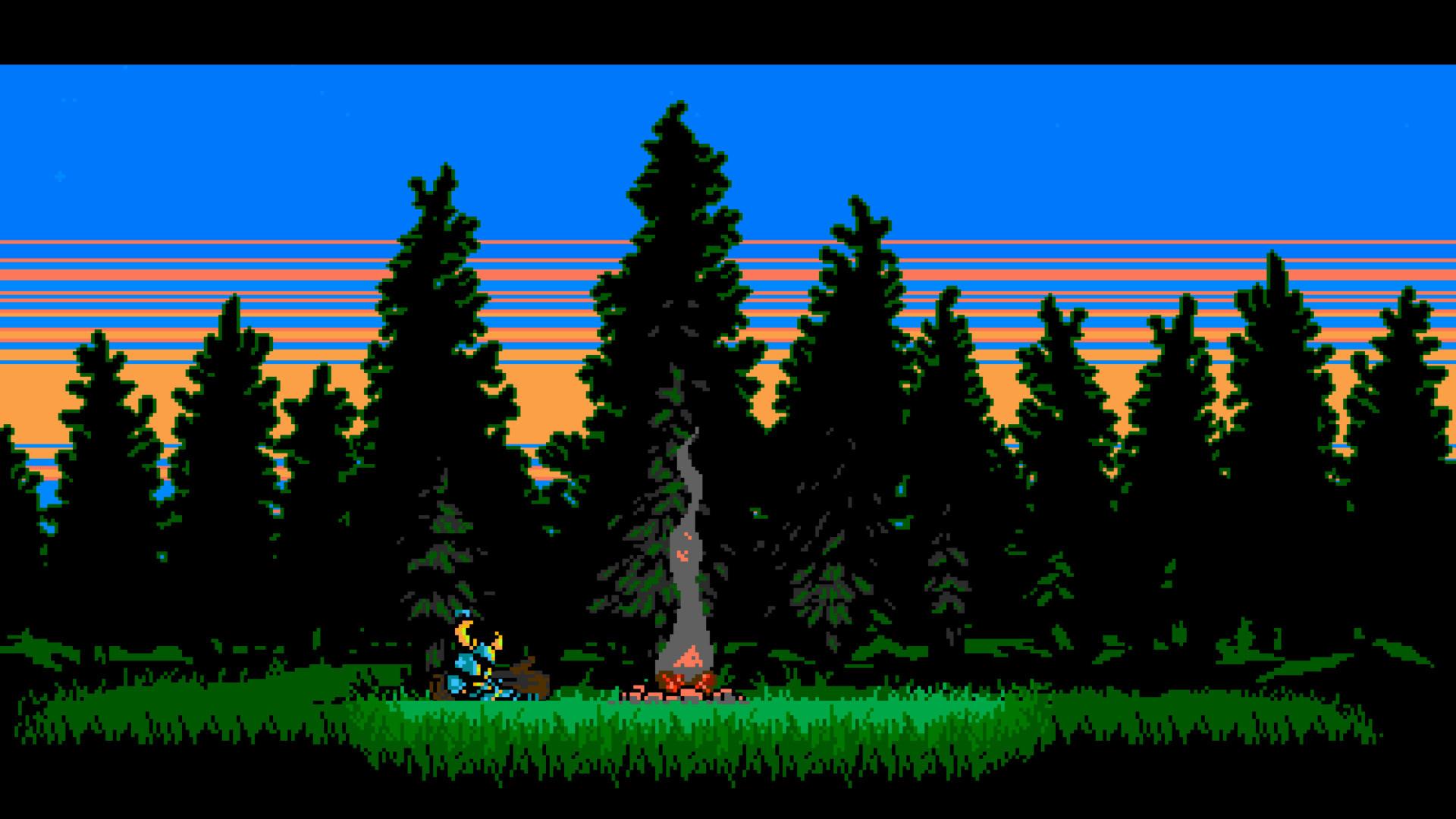 Res: 1920x1080, Shovel Knight, Video Games, Pixel Art, Retro Games, 8 bit, 16