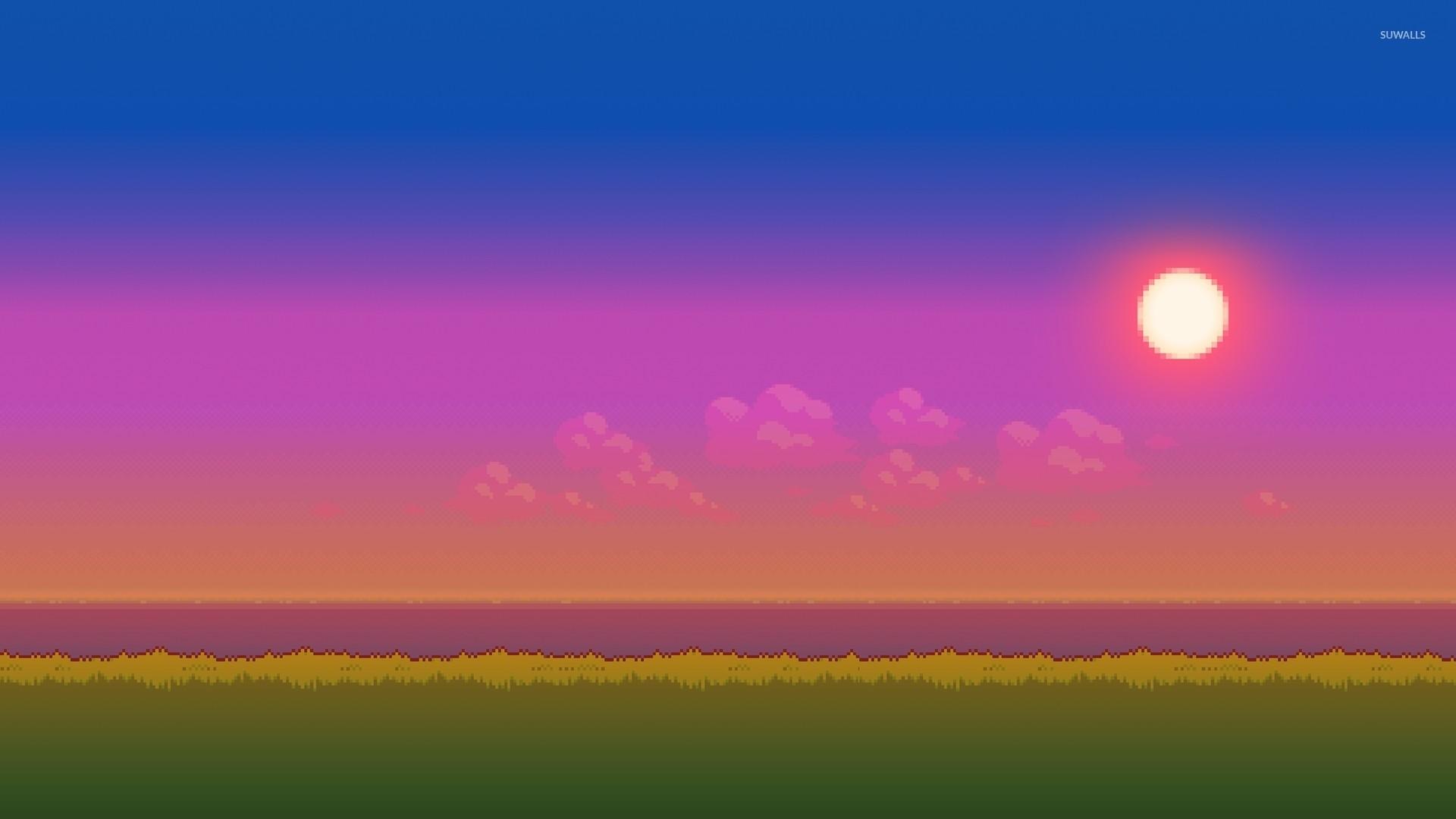Res: 1920x1080, 8-bit sunset wallpaper
