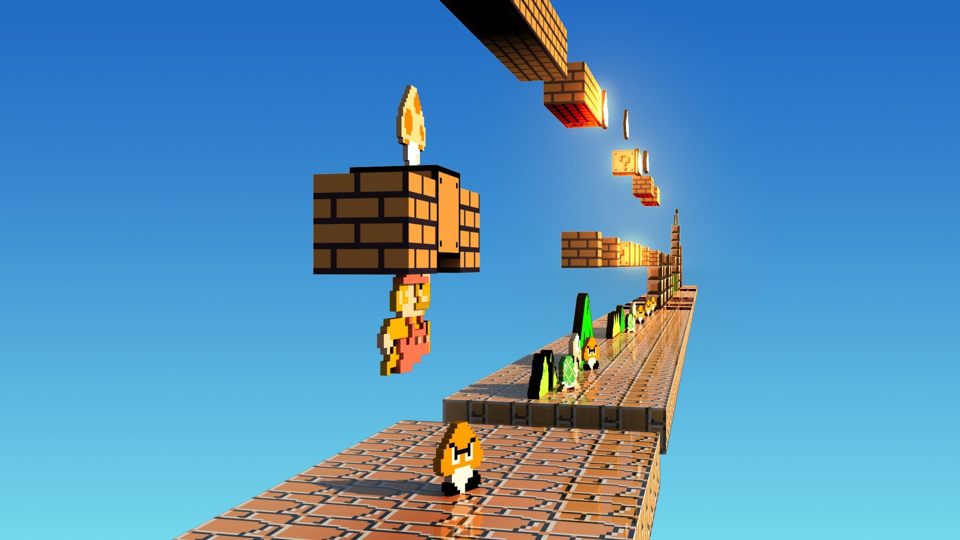 Res: 1920x1080, HD Mario Wallpapers and Photos,  px – By Shantell Kuyper for PC &  Mac, Tablet, Laptop, ...