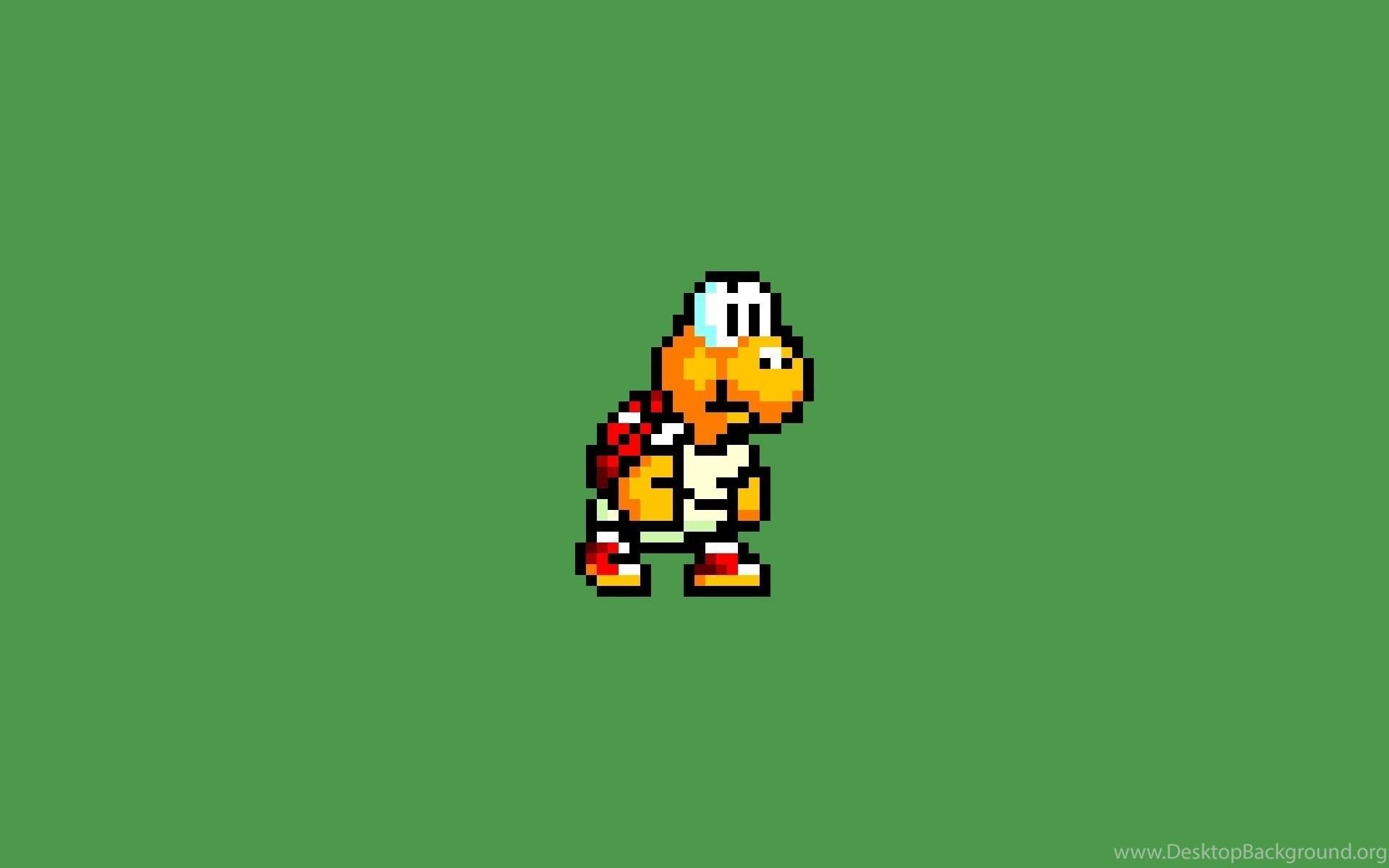 Res: 1920x1200, Video Games Super Mario 8 bit Wallpapers