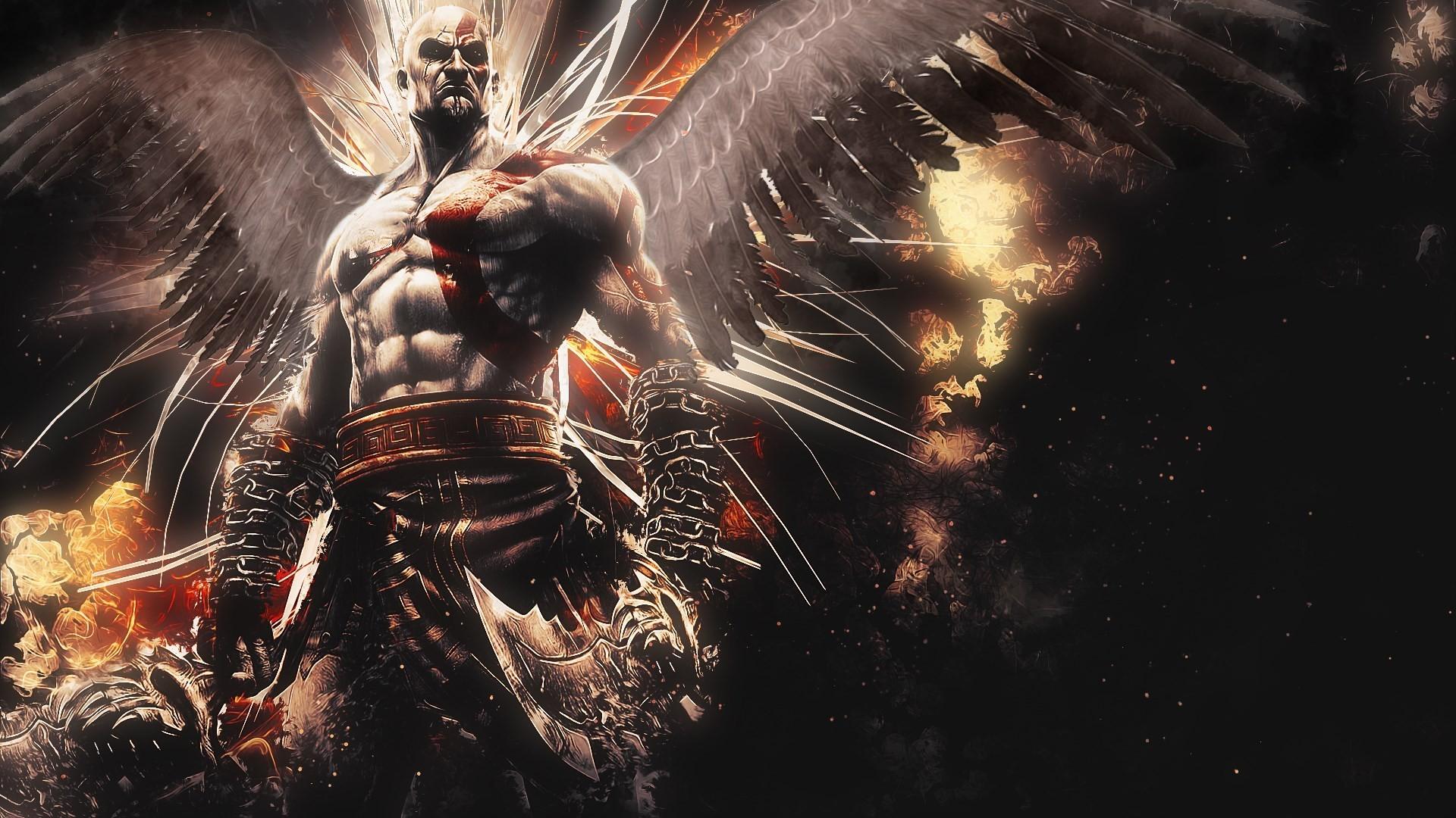 Res: 1920x1080, God Of War