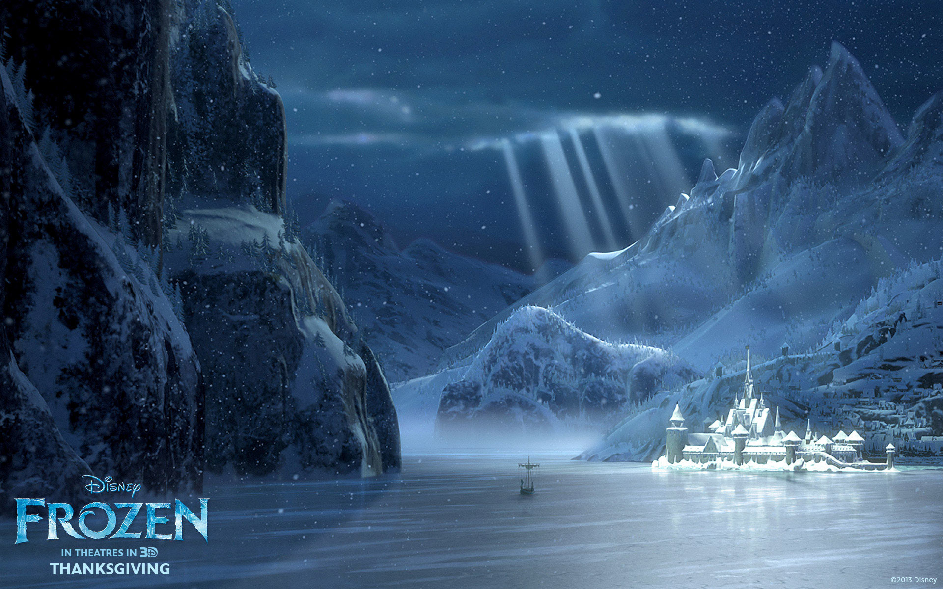 Res: 1920x1200, Frozen Movie Winter Arendelle HD Wallpaper